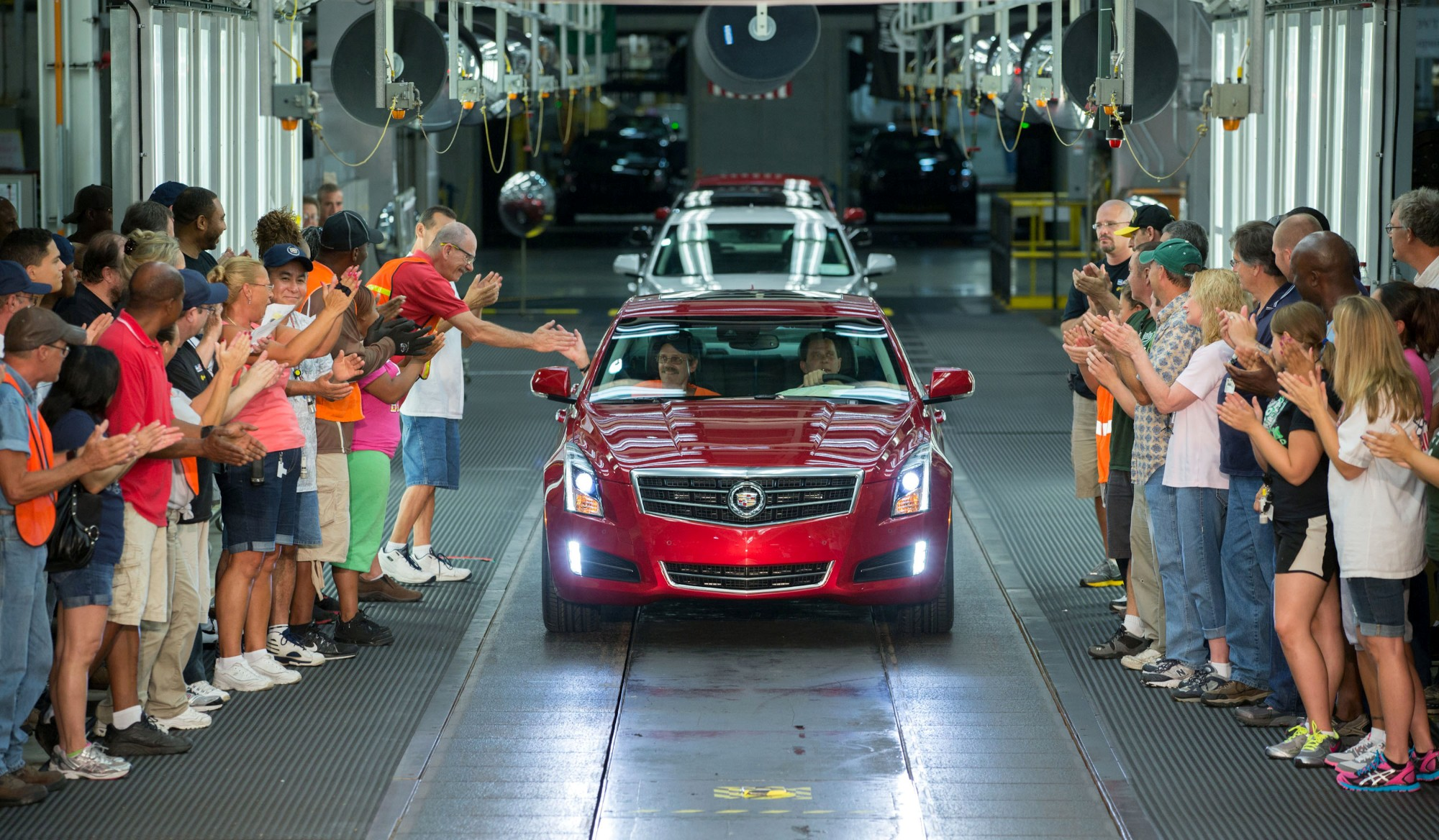 For the first time in a decade auto production tops 16 for Motor cars lansing mi