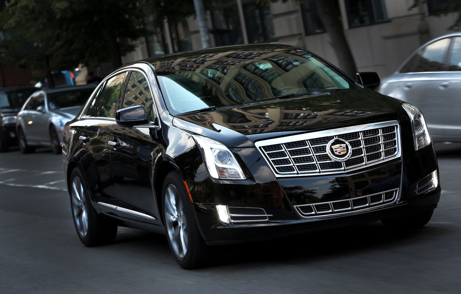 Cadillac's XTS Sedan Looks To Bring Luxury To Livery