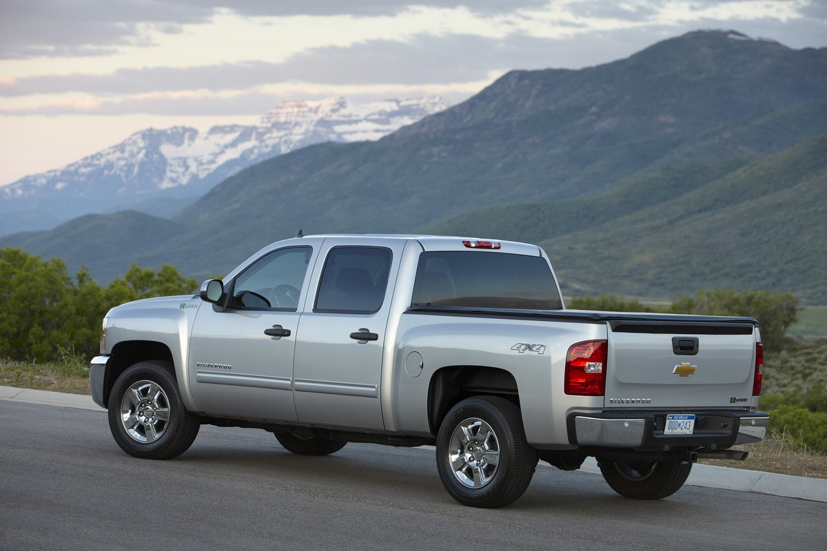 2013 chevrolet silverado 1500 hybrid chevy review ratings specs prices and photos the. Black Bedroom Furniture Sets. Home Design Ideas