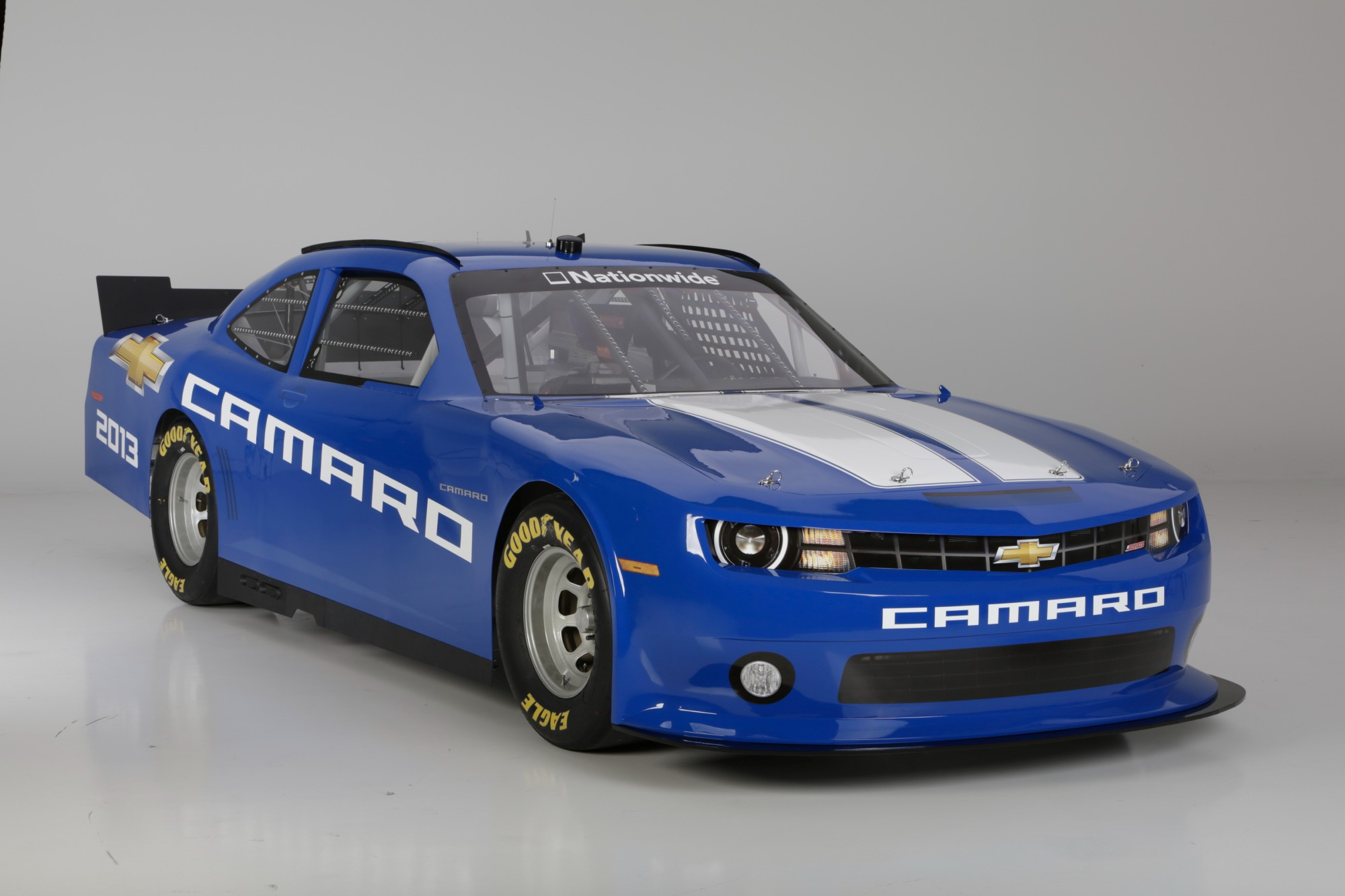Hellcat 2018 Chevy Camaro >> 2013 Chevy Camaro NASCAR Nationwide Race Car Revealed