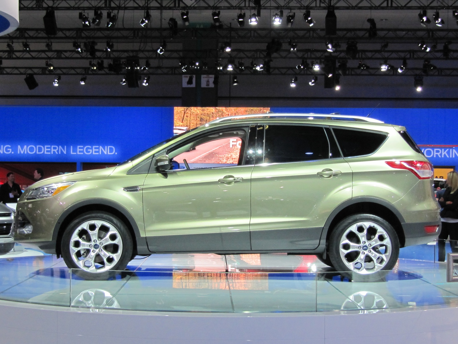 2013 ford escape live photos 2011 los angeles auto show