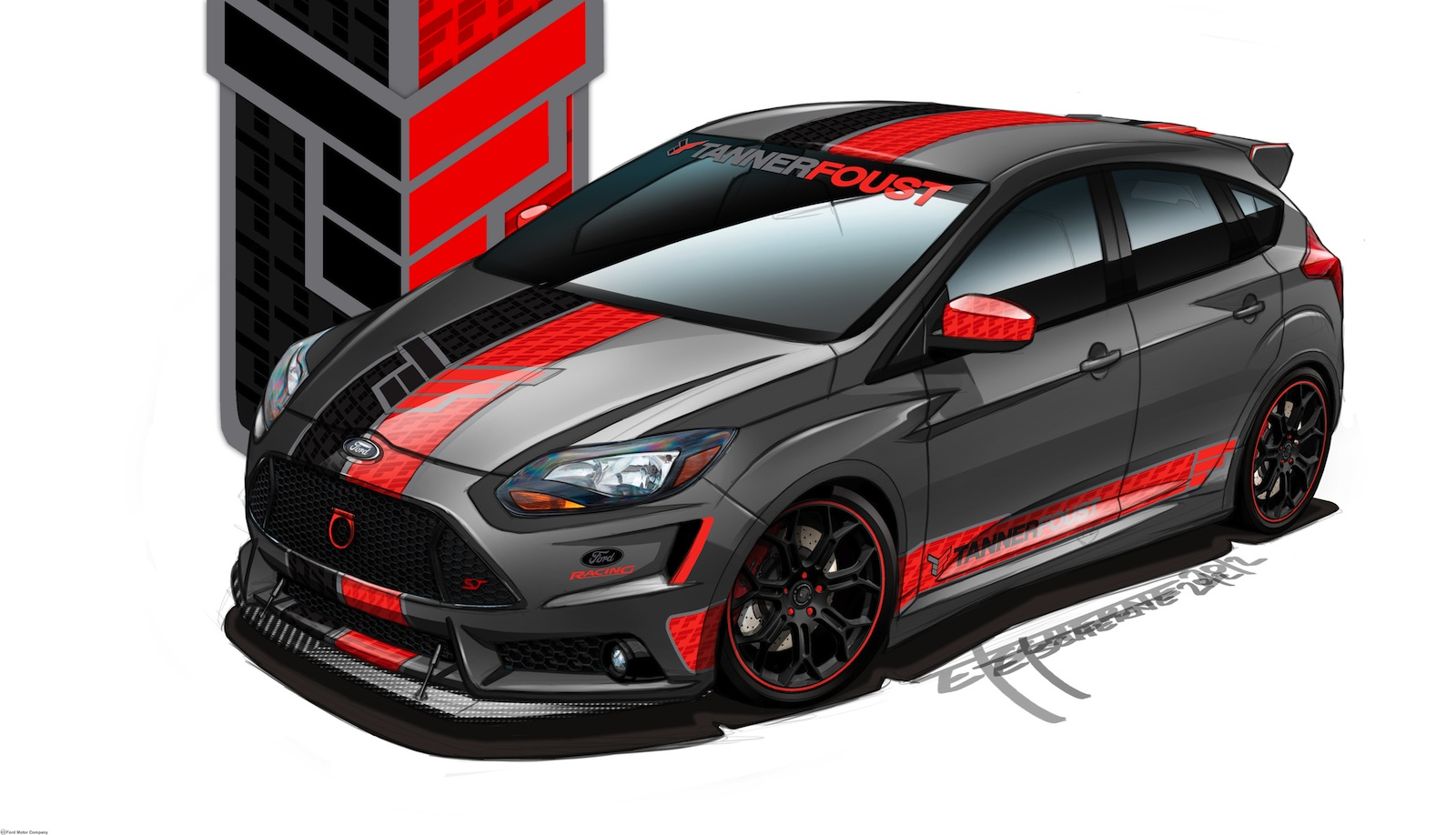 Ford Bringing Five Tuned Focus St Hatchbacks To Sema 2012