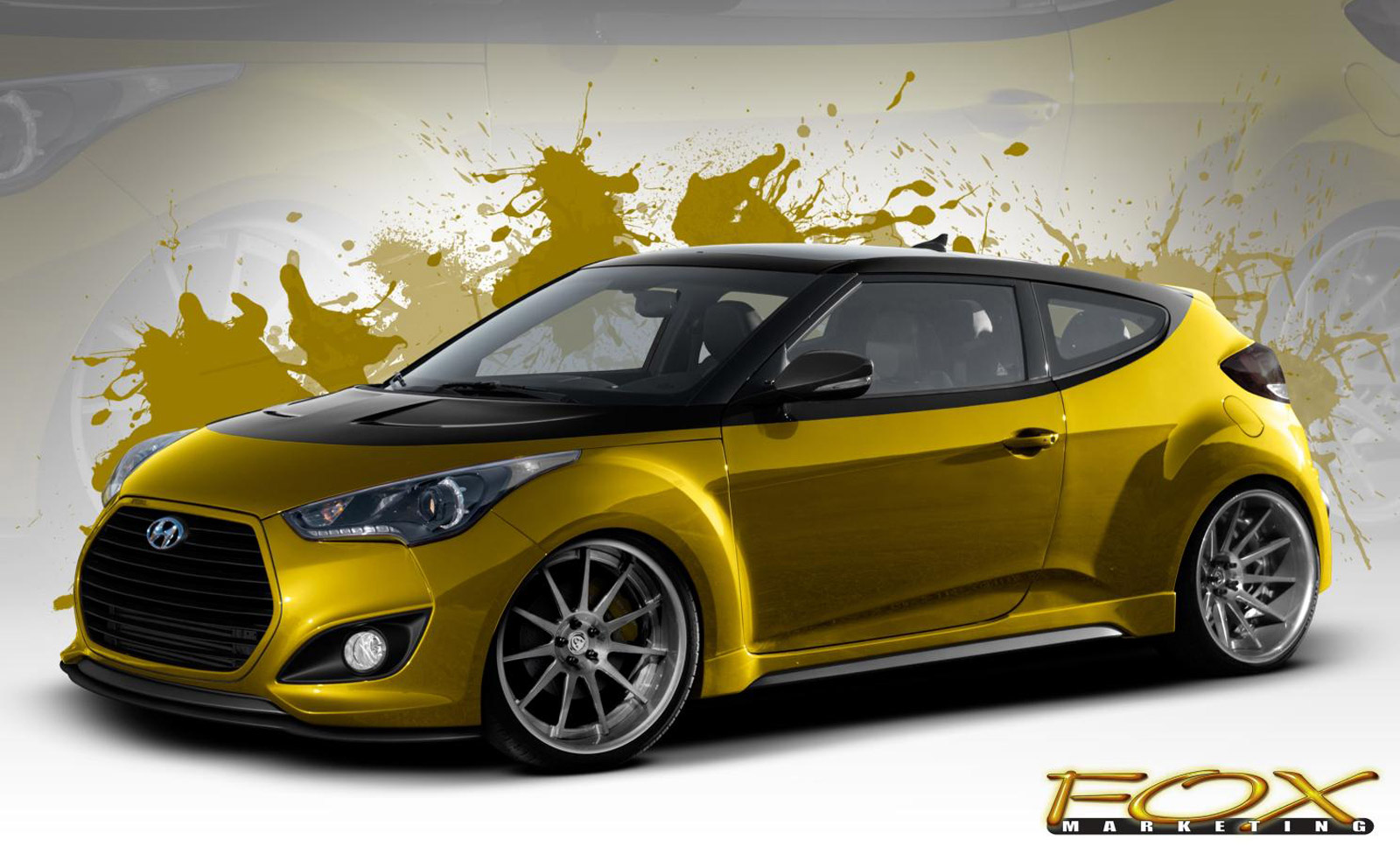 hyundai bringing 370 horsepower veloster turbo to sema. Black Bedroom Furniture Sets. Home Design Ideas