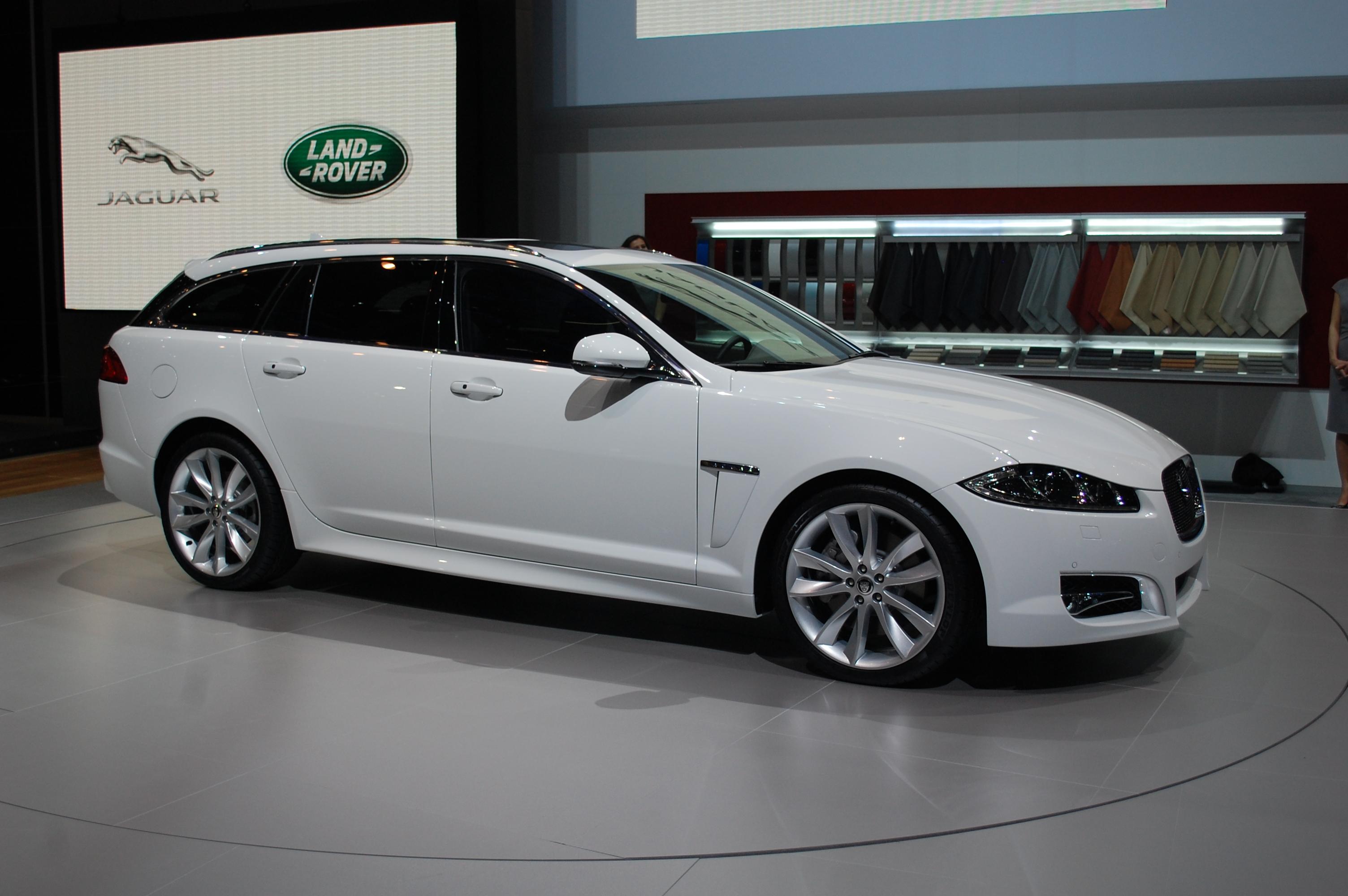 Jaguar Shows Off Its XF Sportbrake Video