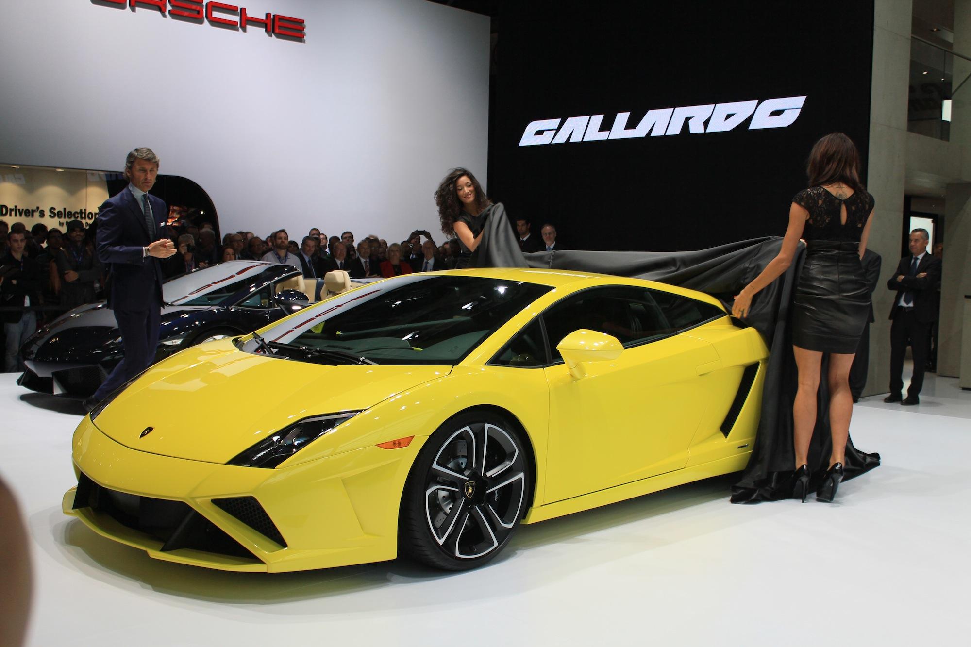 2013 Lamborghini Gallardo Lp 560 4 Live Photos 2012 Paris Auto Show