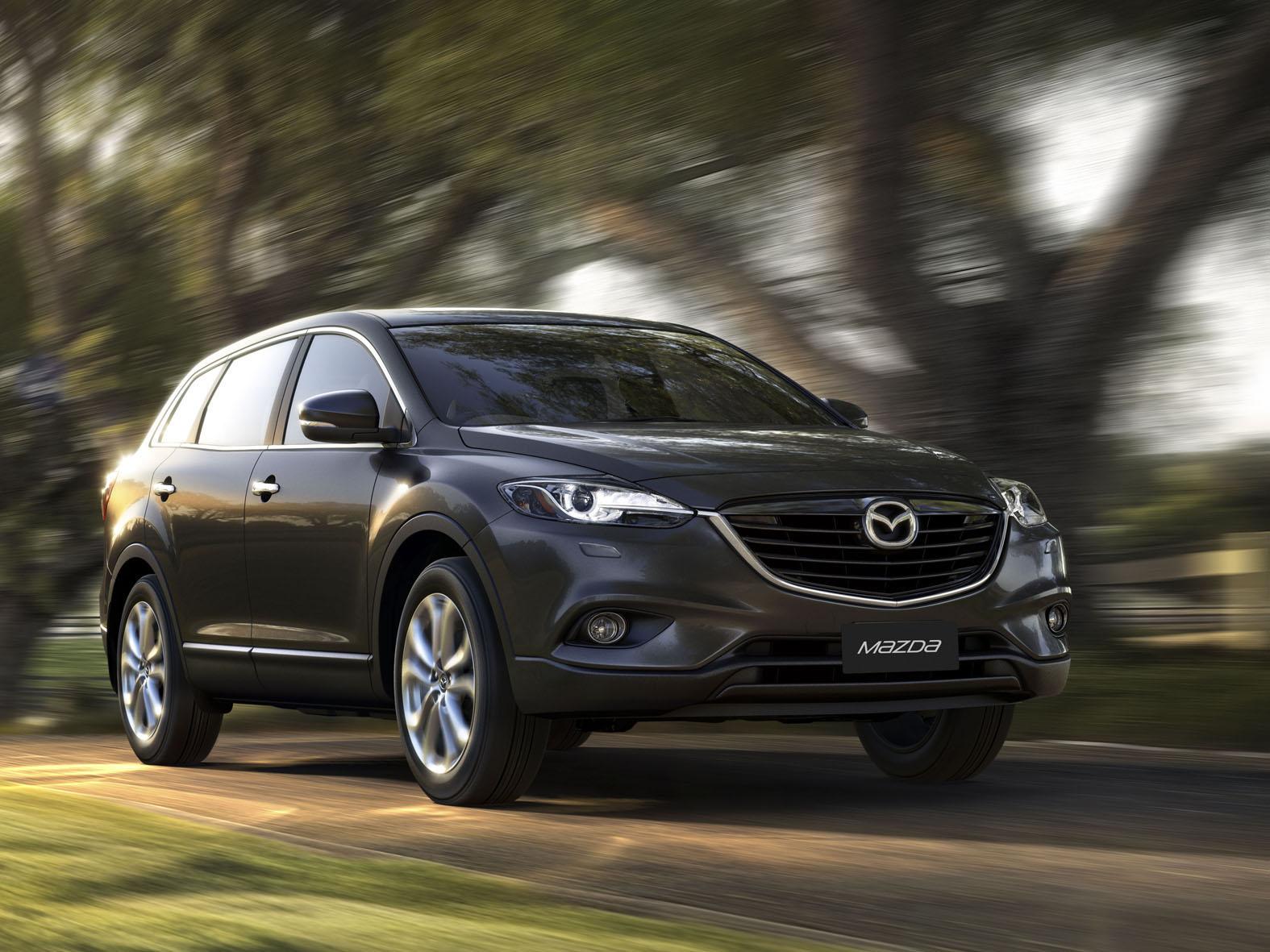 2013 Mazda CX-9, 2013 Dodge Dart Aero, McLaren P1: Car News Headlines