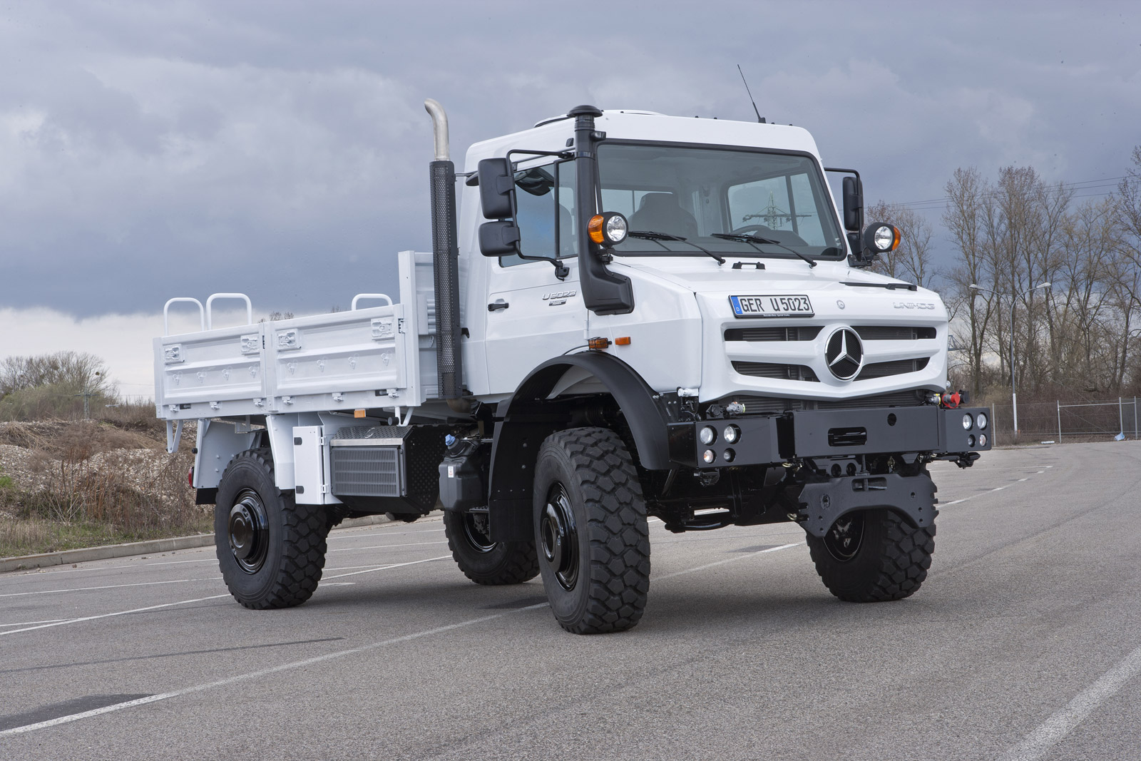 Mercedes Tough As Nails Unimog Gets New Look Engines For 2013