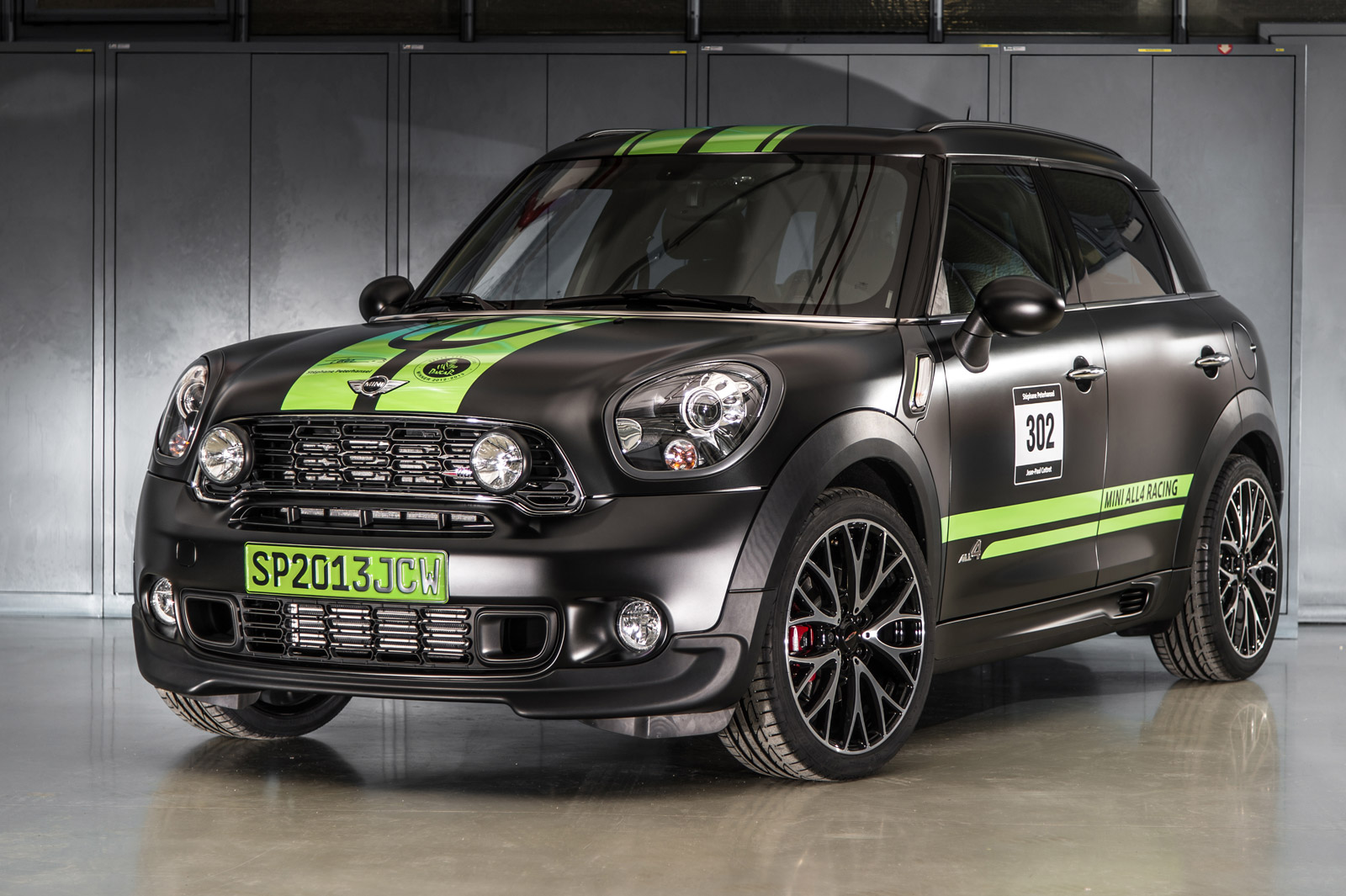 Mini Celebrates Dakar Win With Special Edition Jcw Countryman