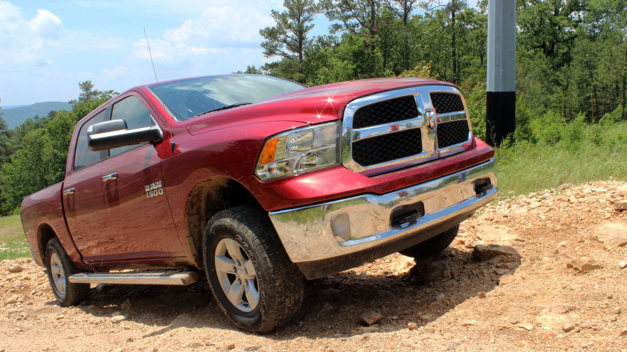 30 Days Of The 2013 Ram 1500 Off-Roading At Superlift ORV Park & 30 Days Of 2013 Ram 1500: Camping In Your Truck