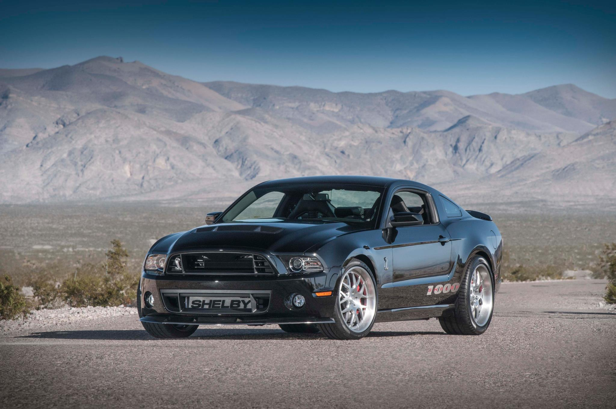 1,200-HP Shelby 1000 S/C: New York Auto Show Preview