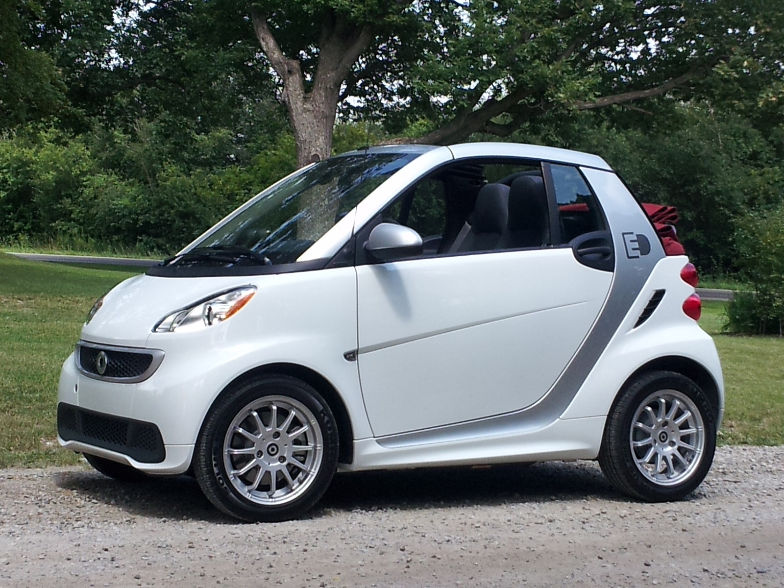 2013 Smart Electric Drive Cabrio Brief Drive Of Electric