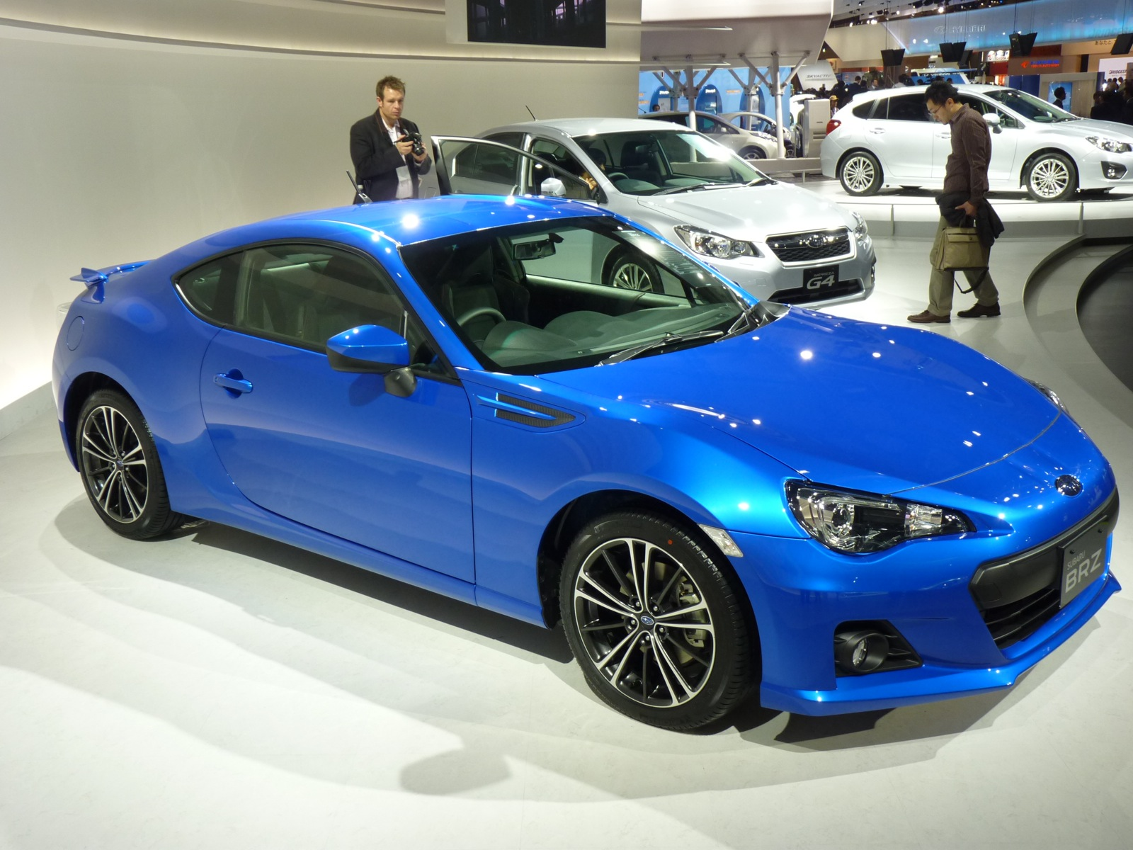Minivans For Sale >> 2013 Subaru BRZ Live Photos And Video: 2011 Tokyo Motor Show