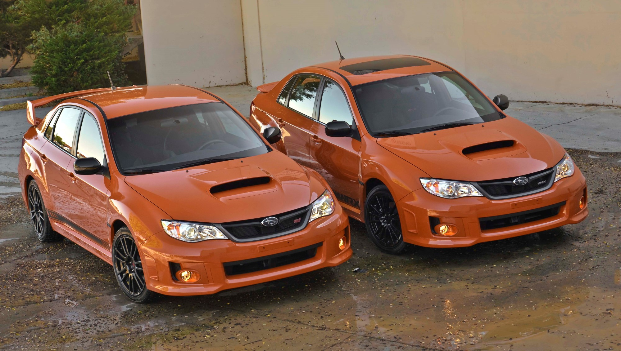 Difference Between Wrx And Sti >> 2013 Subaru Wrx And Sti Special Editions Priced From 28 795