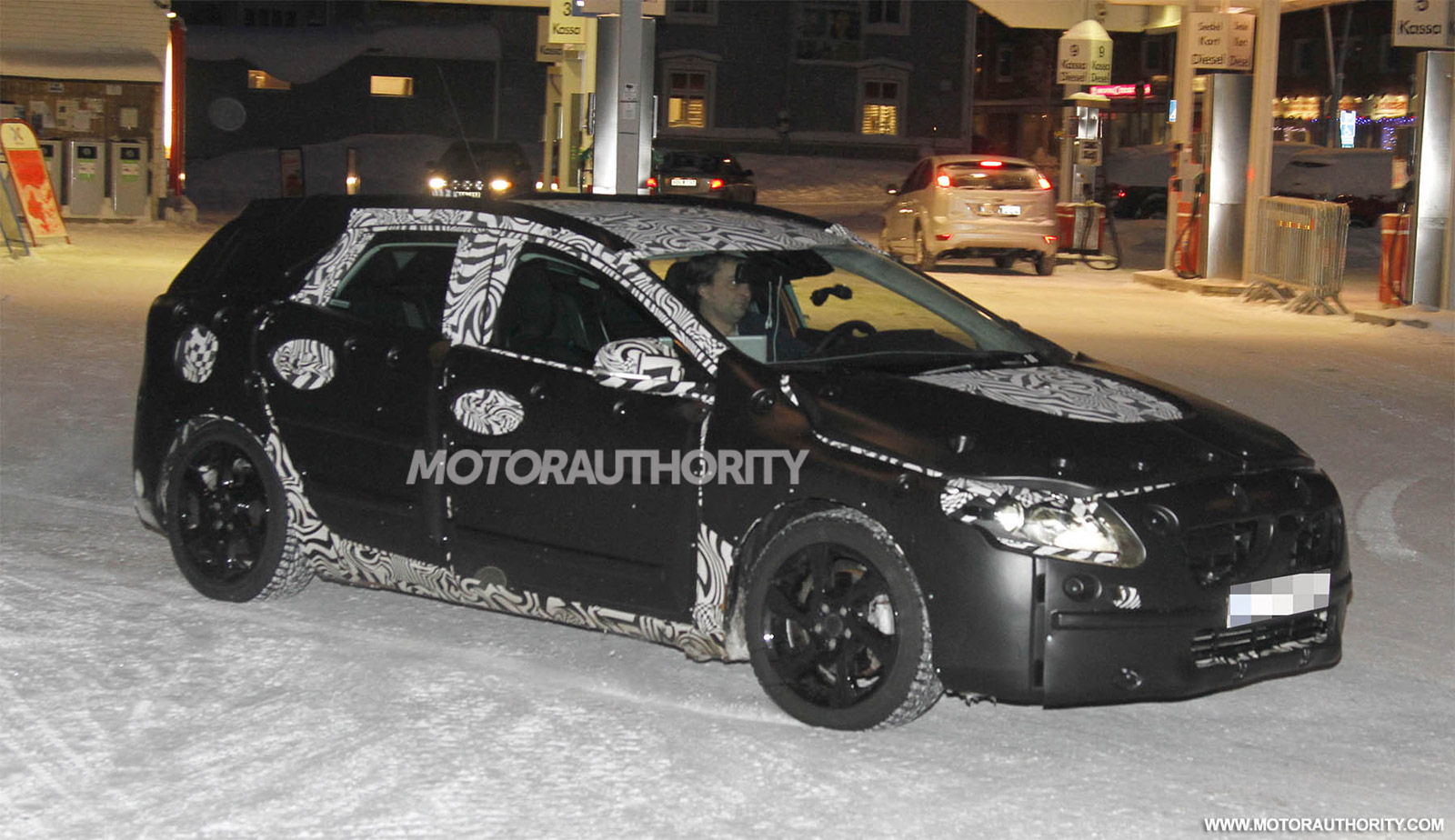 2013 Volvo V40 Spy Shots