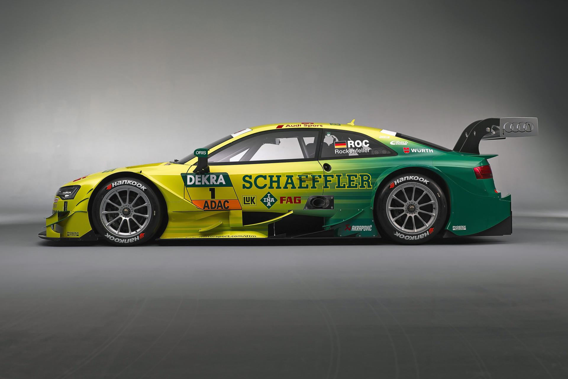2014 Audi RS 5 DTM Race Car Revealed