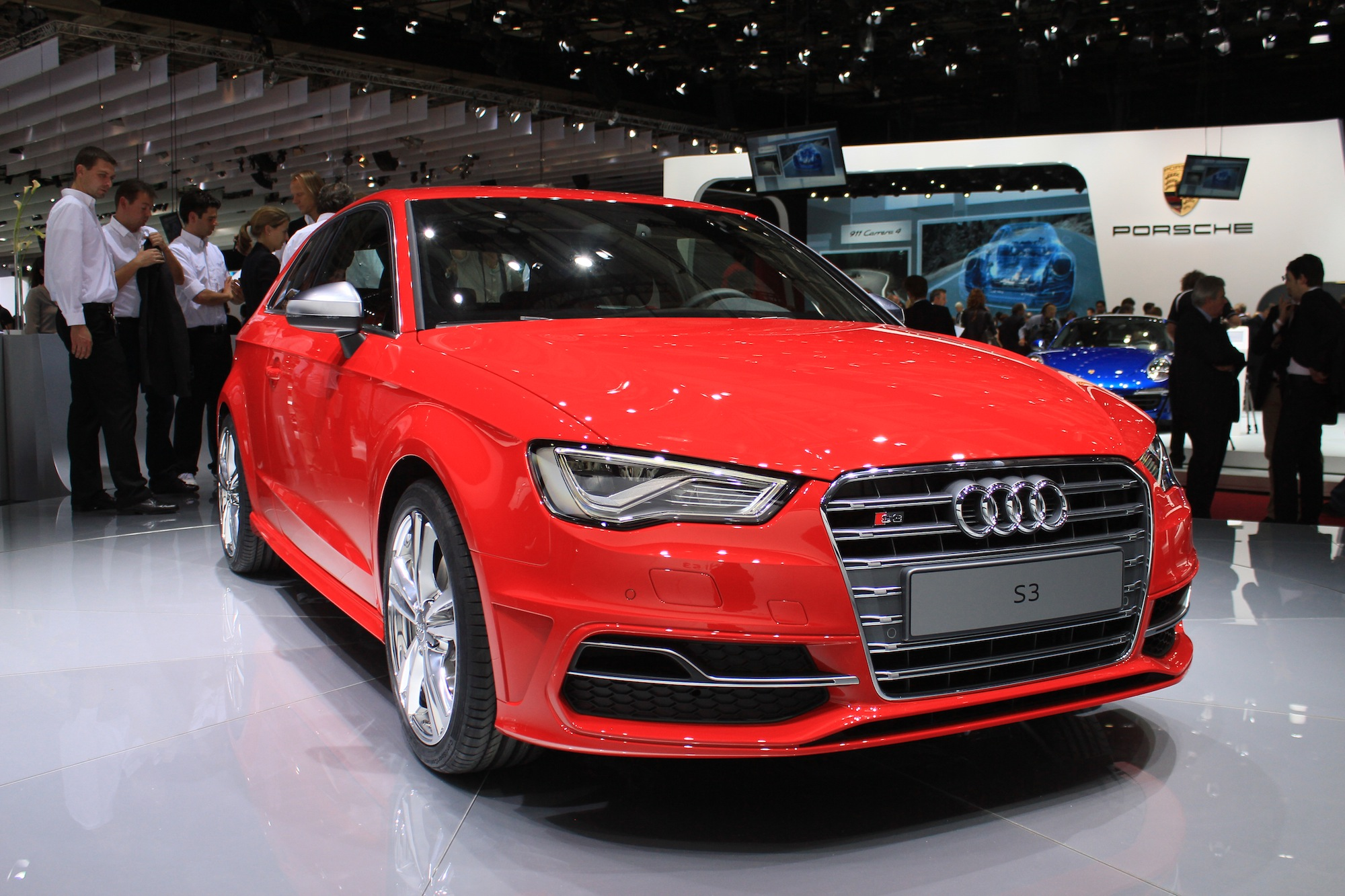 2014 audi s3 hatchback live photos 2012 paris auto show. Black Bedroom Furniture Sets. Home Design Ideas