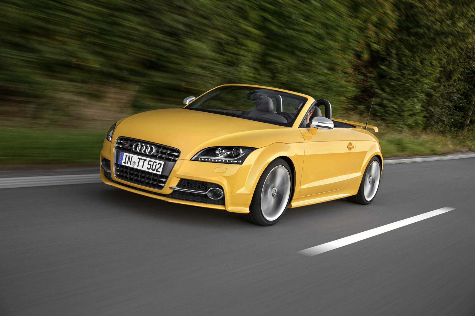 Audi Marks TT Production Milestone With New Special Edition - Audi tts roadster