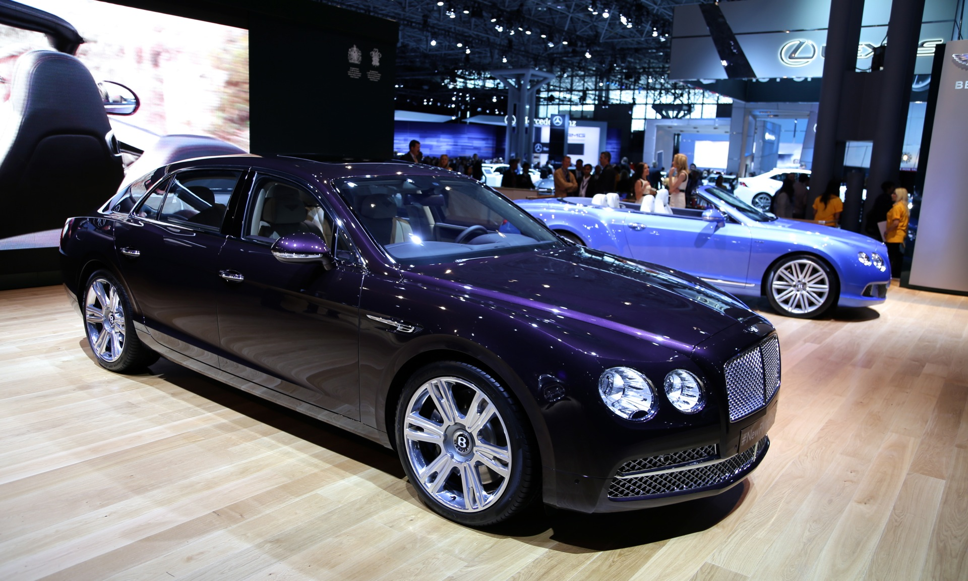 2014 bentley flying spur video preview  new york auto show