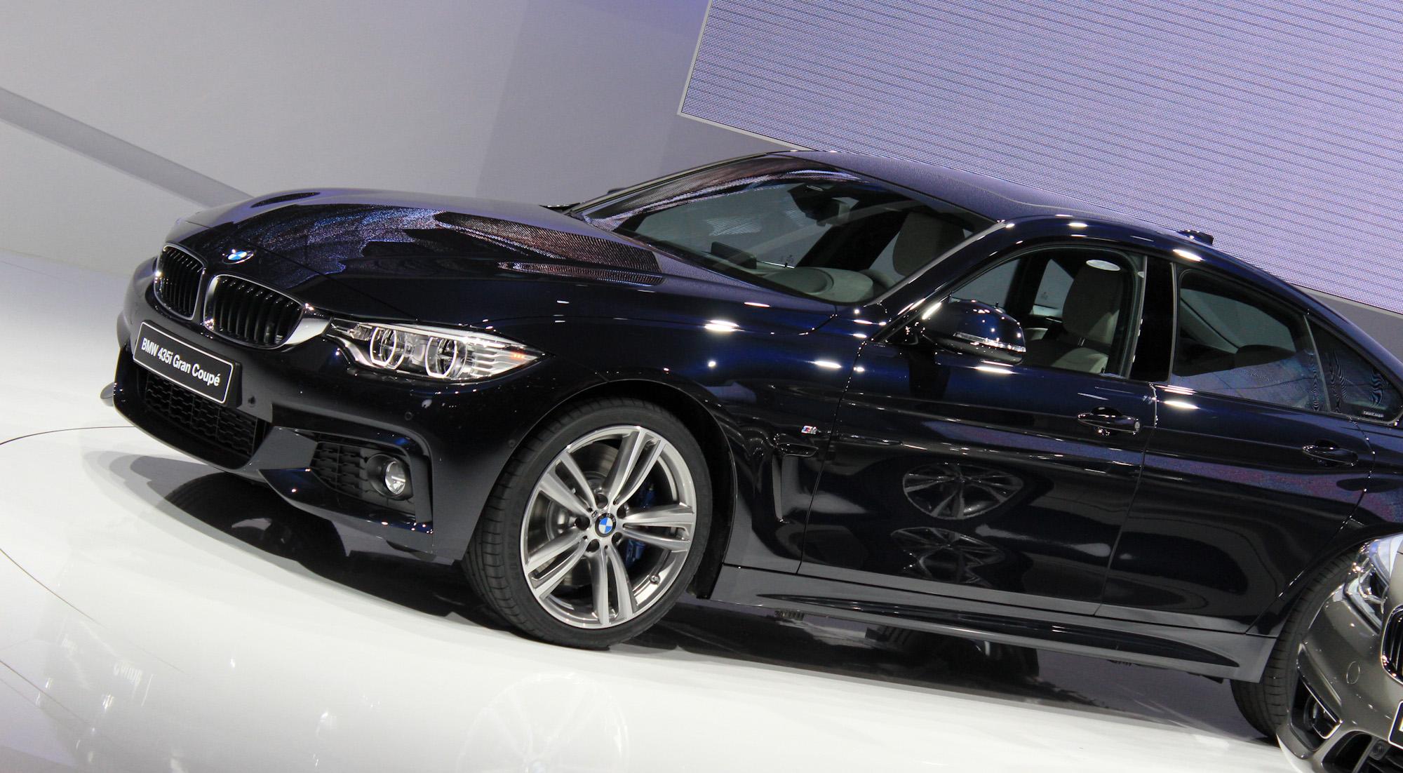 2015 BMW 4-Series Gran Coupe debuts at 2014 Geneva Motor Show