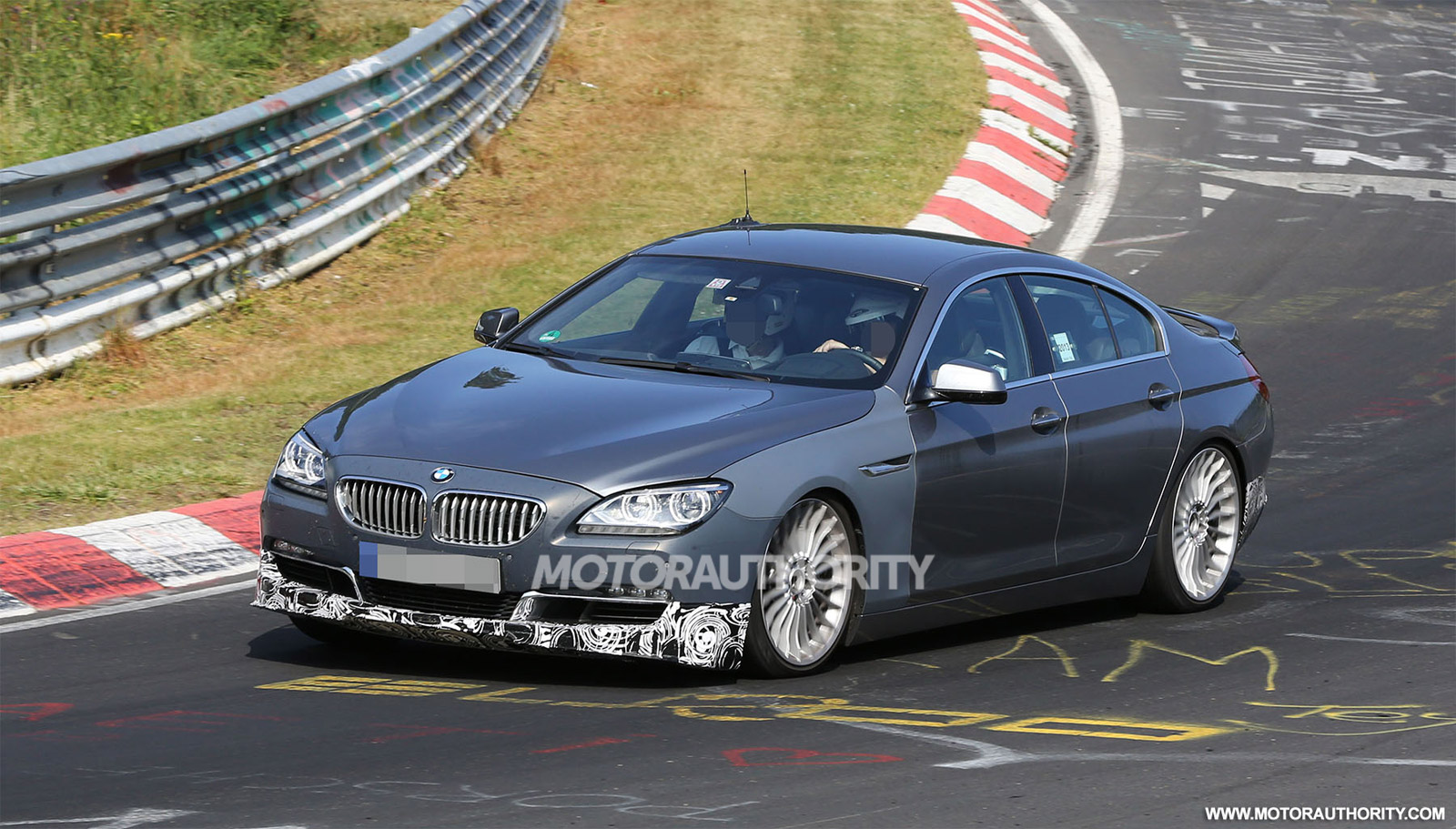 BMW Alpina B Biturbo Gran Coupe Spy Shots - Bmw alpina b6 biturbo price