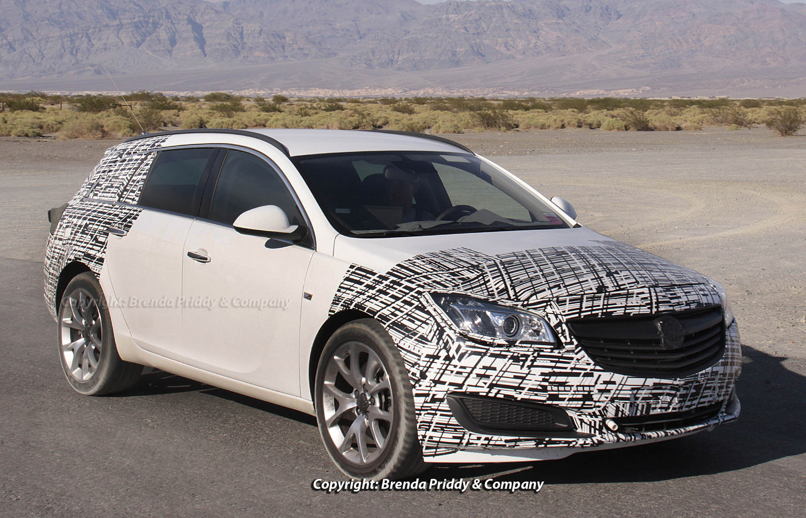 2014 Buick Regal Sport Wagon spy shots