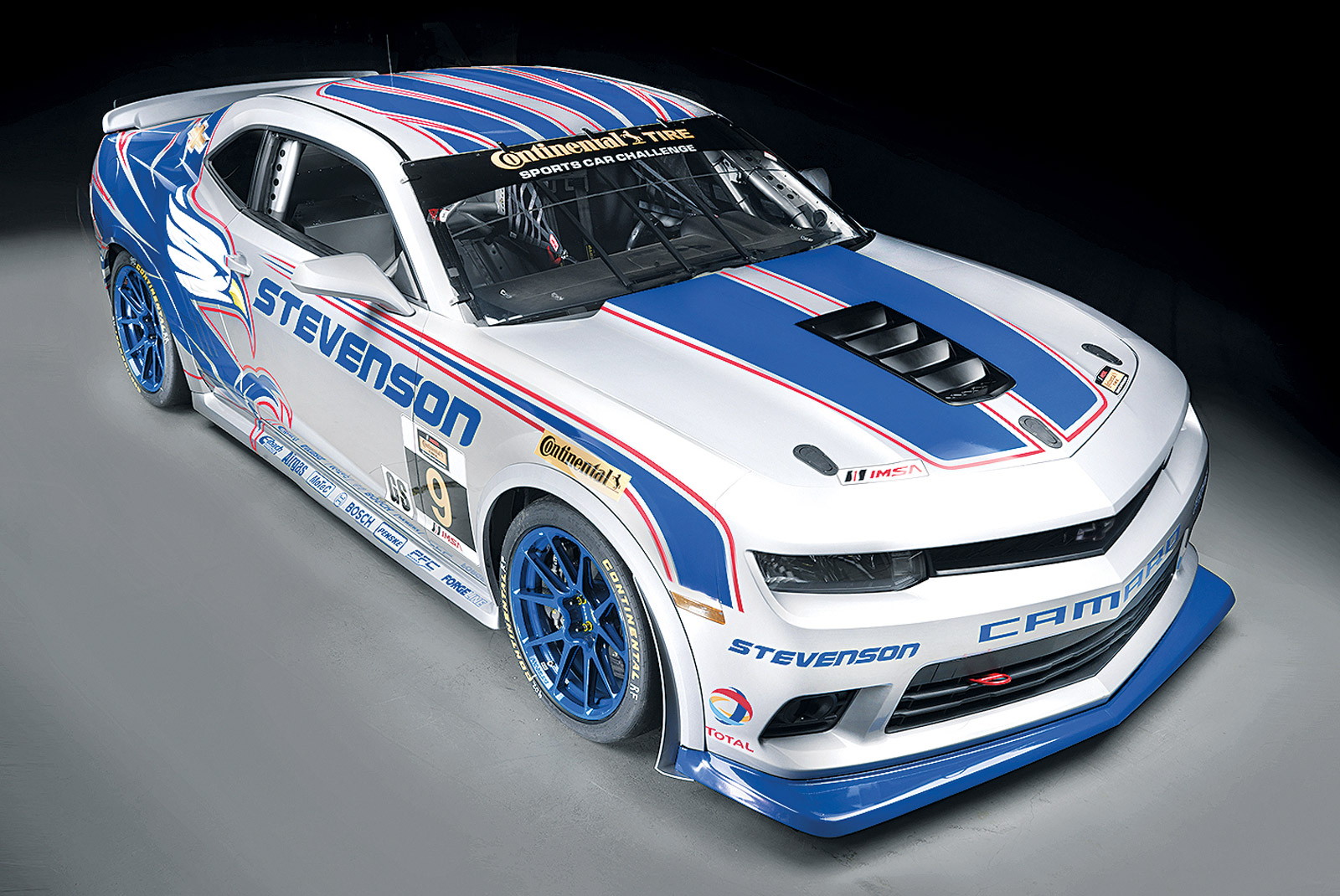 2014 Chevrolet Camaro Z 28 R Race Car Revealed