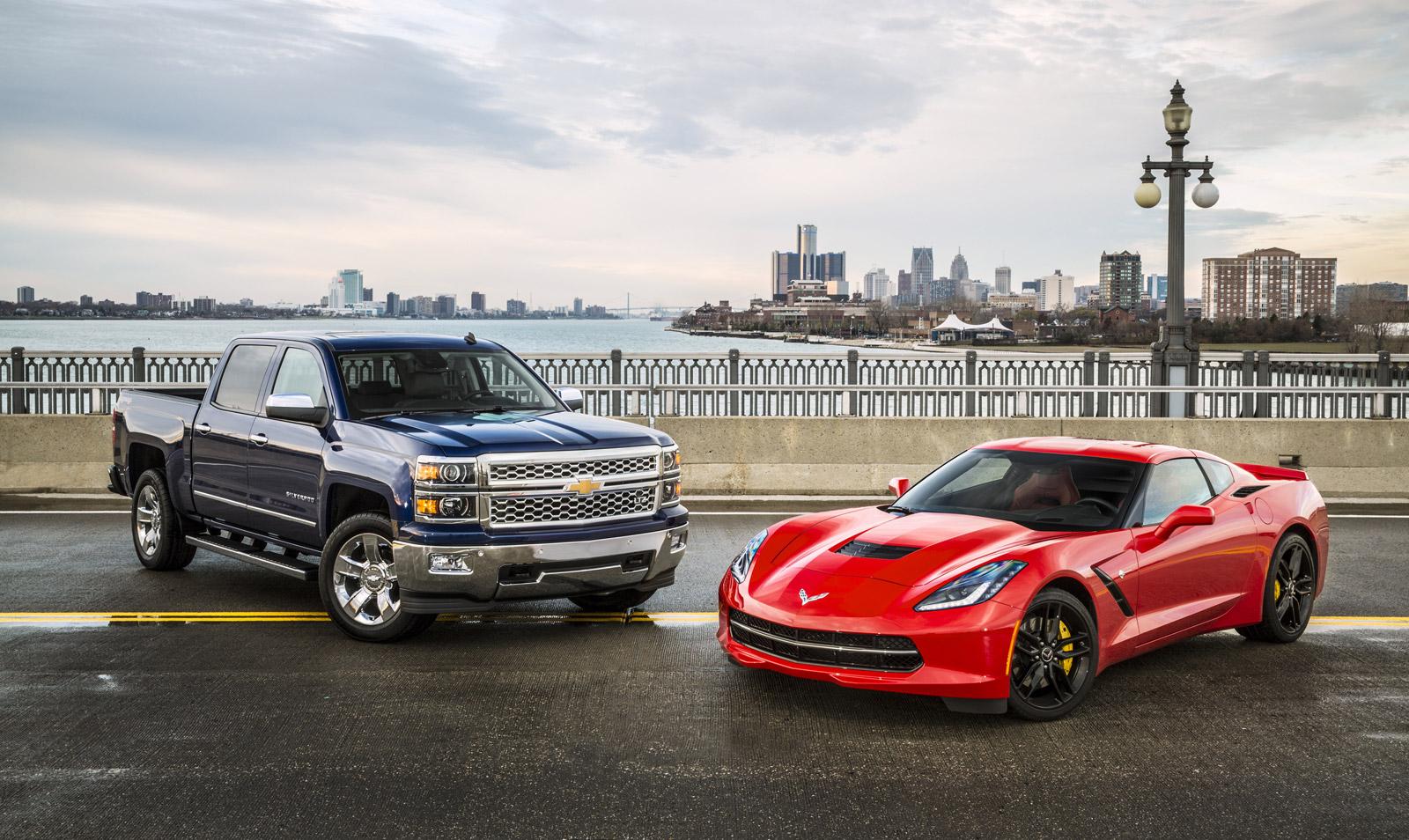 Chevy Corvette Stingray And Silverado Named North American