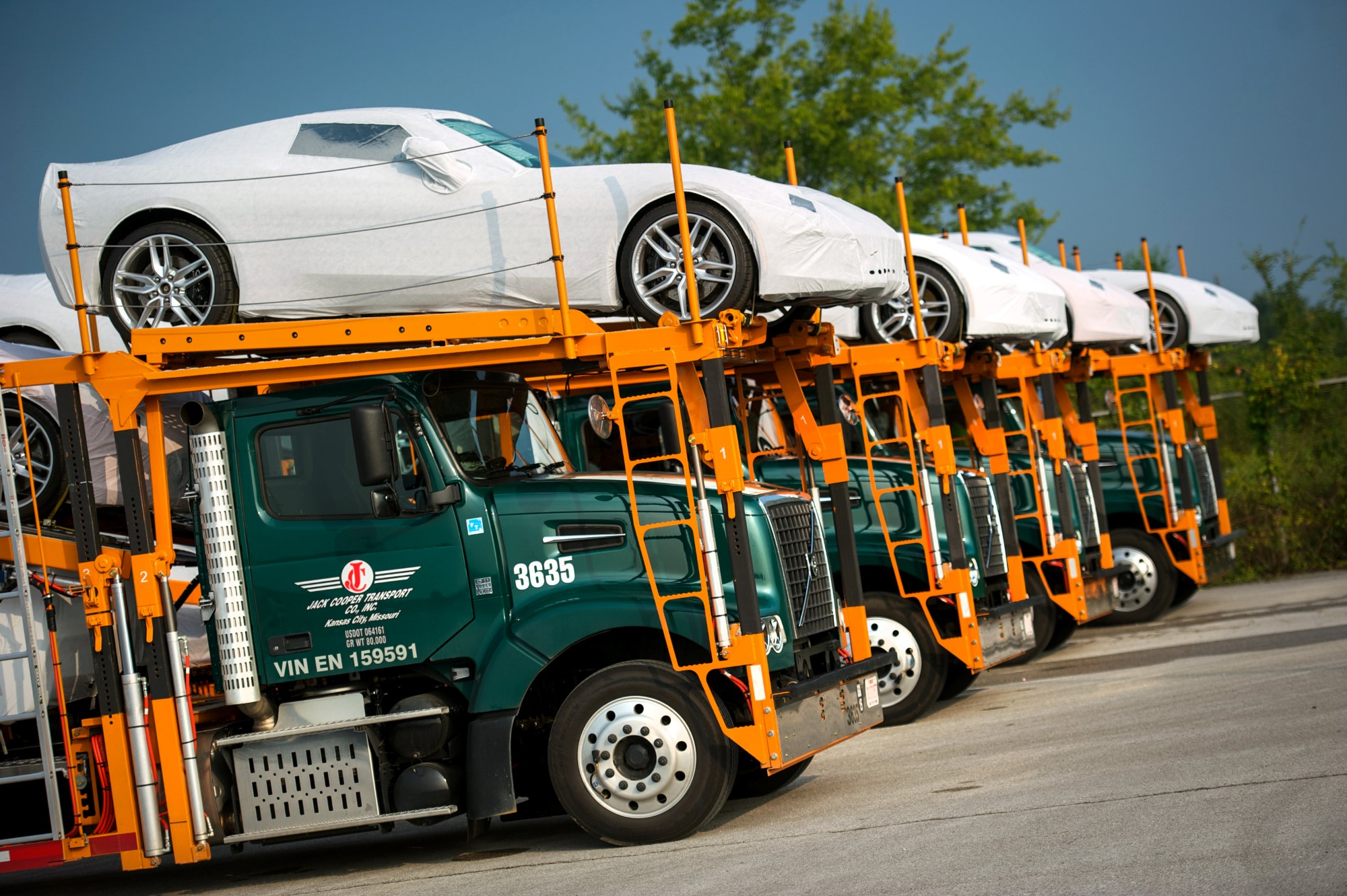2014 Chevy Corvette Stingray Shipping To Dealers Today