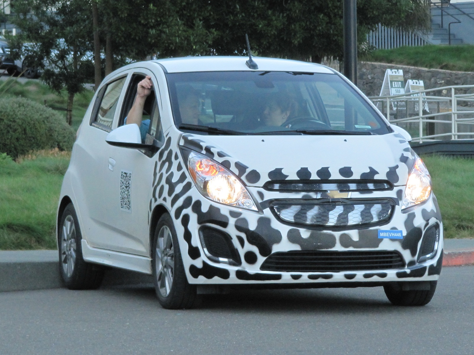 2014 Chevy Spark EV Prototype Electric Car First Drive