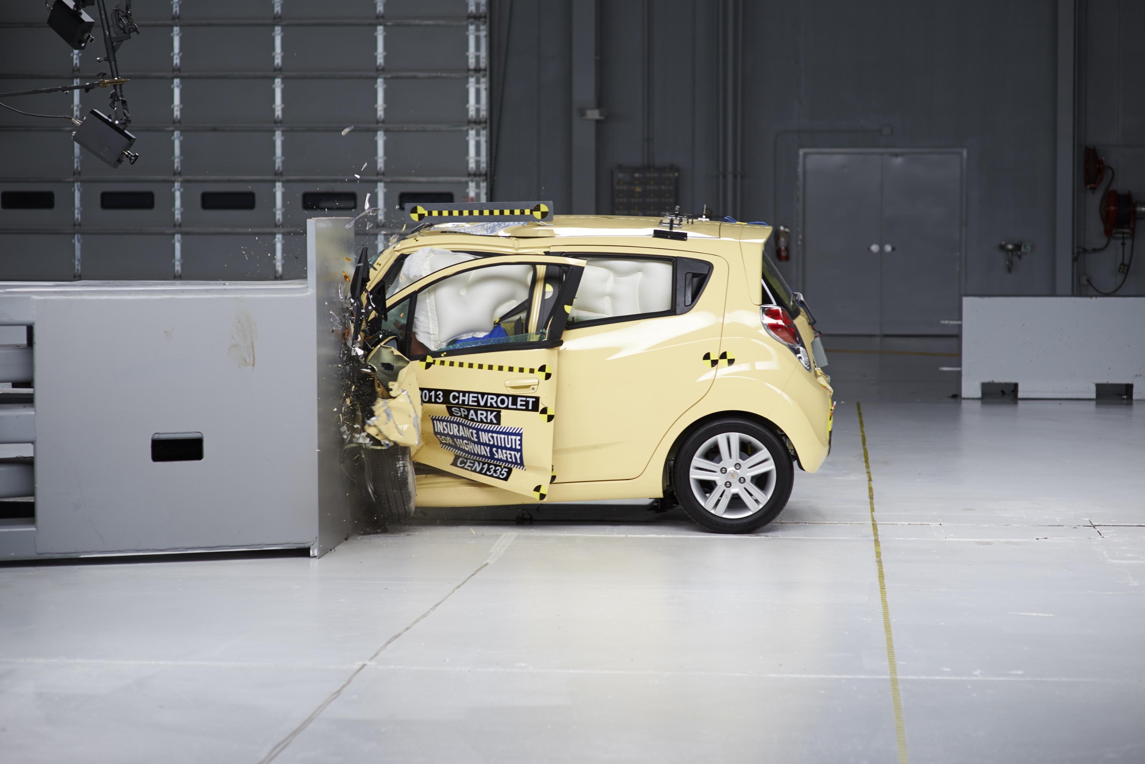 Very Small Cars Fail New IIHS Small-Overlap Frontal Crash Test