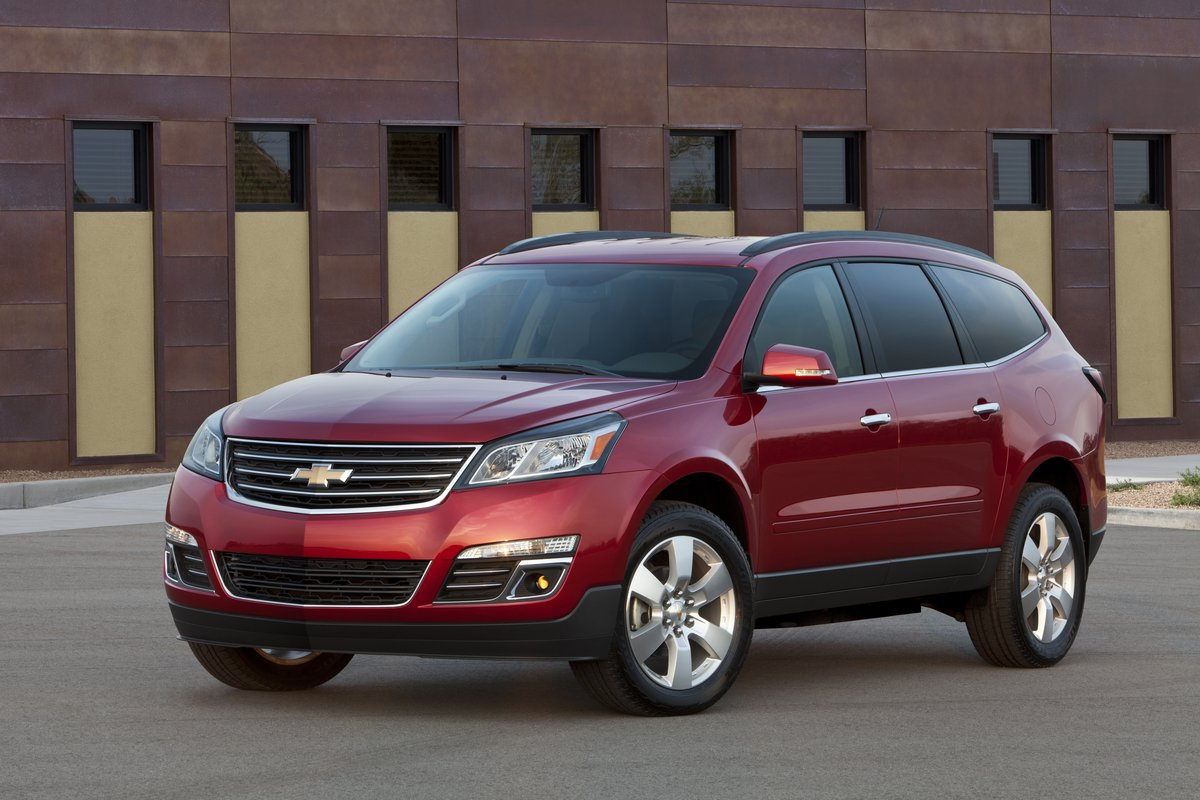 2014 Chevrolet Traverse Chevy Review Ratings Specs Prices And Photos The Car Connection