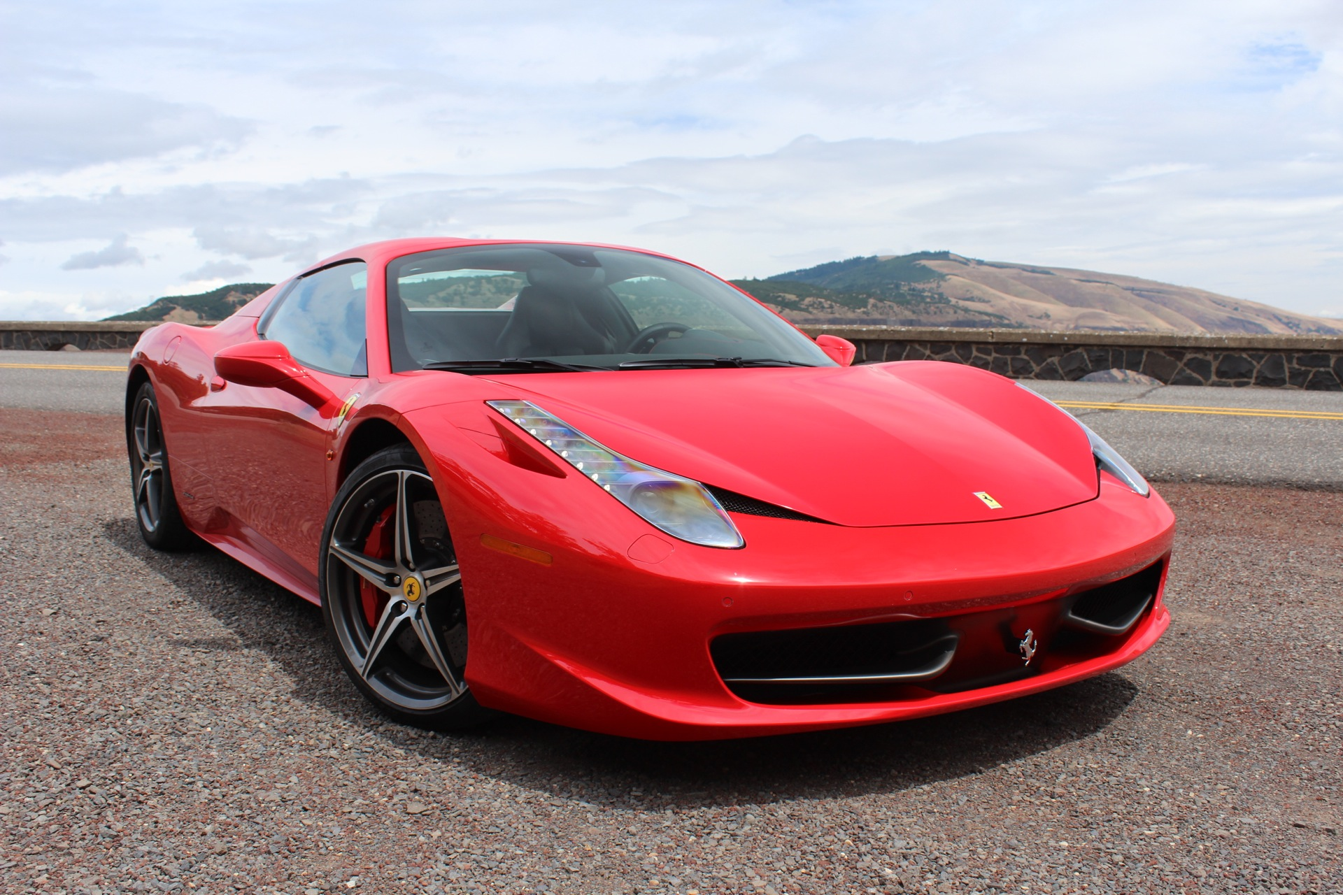 2014 ferrari 458 spider quick drive. Black Bedroom Furniture Sets. Home Design Ideas