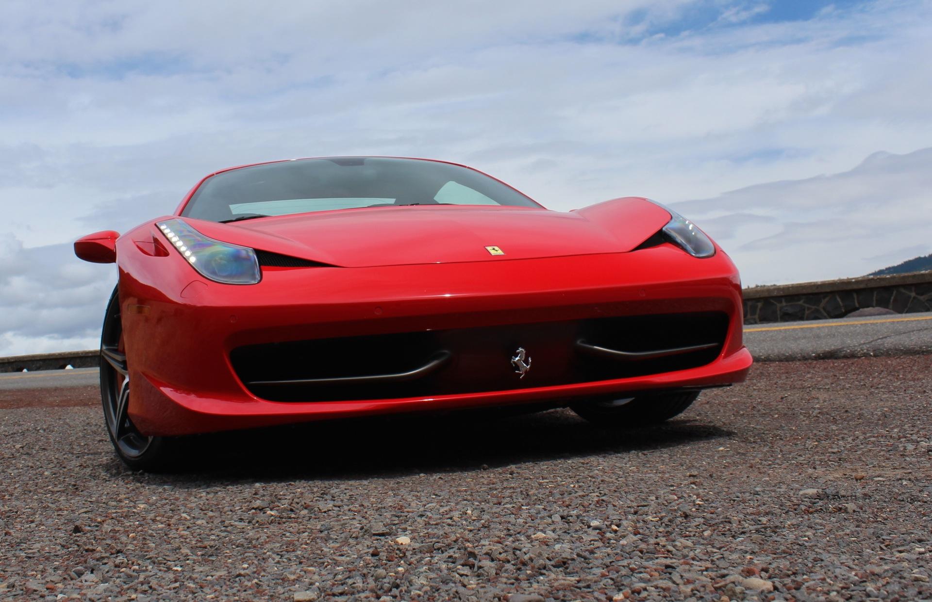 ferrari used italia new s sale white shocking for brake calipers spider deals rosso convertable scuderia