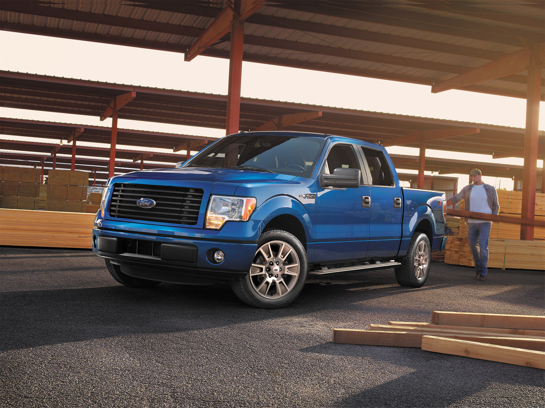 Ford unveils 2014 ford f 150 stx stx sport package