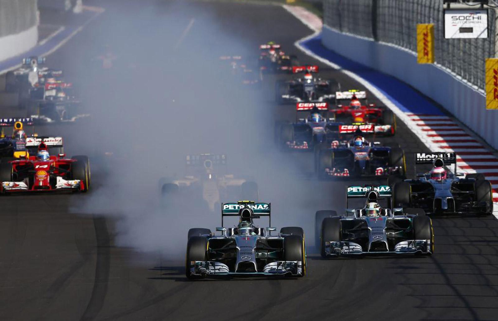 2014 Formula One Russian Grand Prix Results