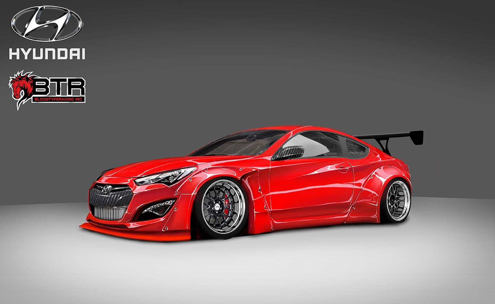 hyundai genesis coupe gets close to 1 000 hp for sema. Black Bedroom Furniture Sets. Home Design Ideas