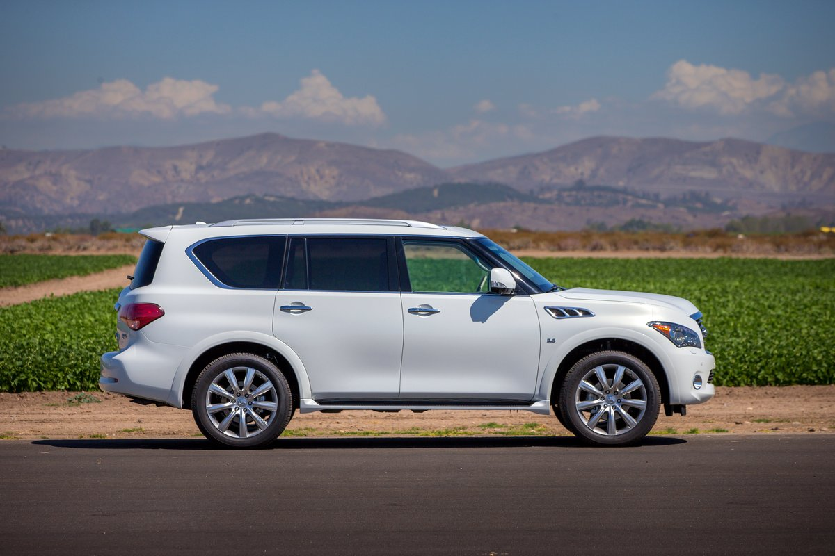 2014 infiniti qx80 review ratings specs prices and photos the car connection. Black Bedroom Furniture Sets. Home Design Ideas