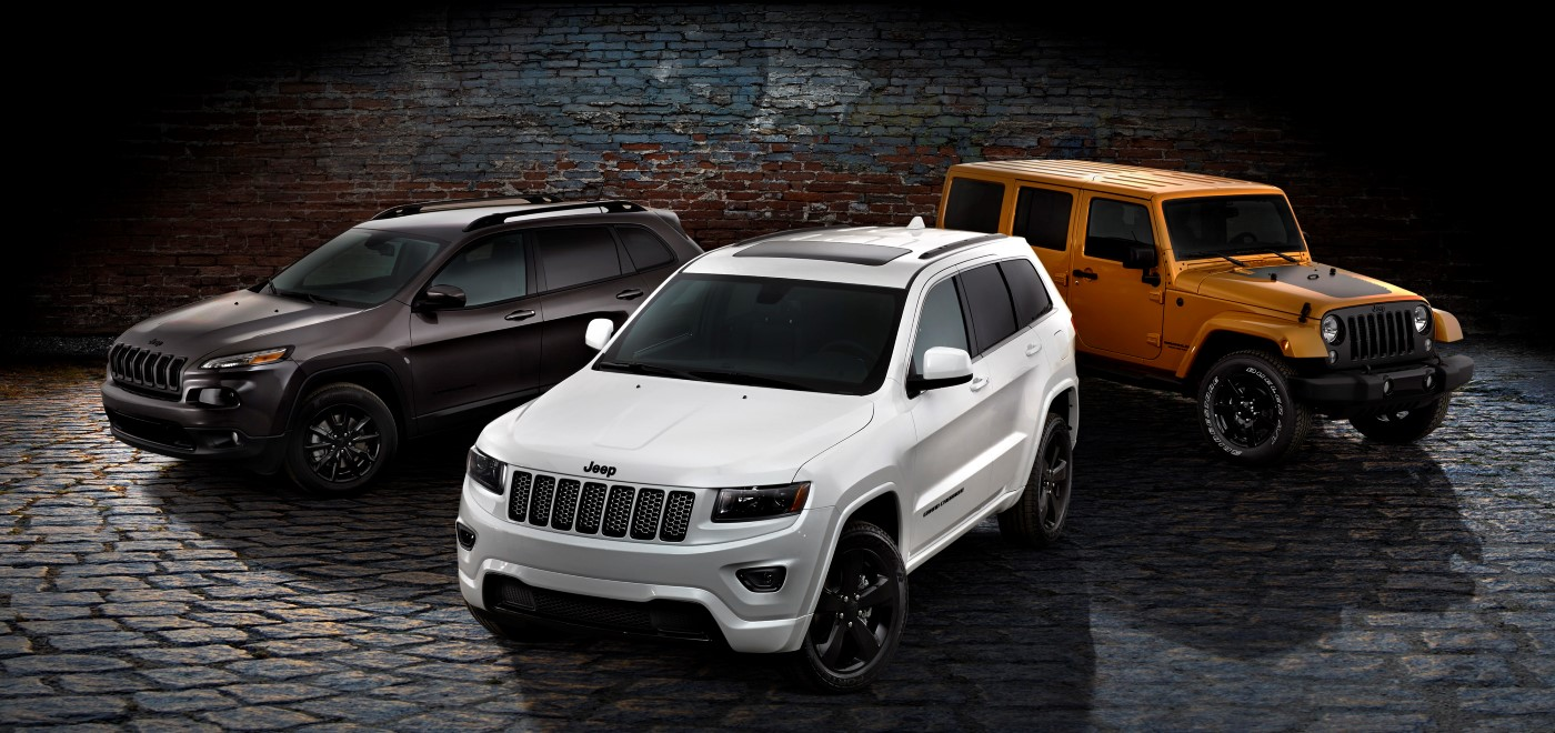 jeep launches blacked-out altitude special editions
