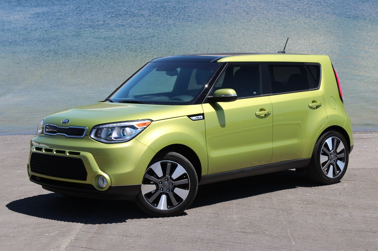 2015 kia soul ev to be sold in u s first korean electric car. Black Bedroom Furniture Sets. Home Design Ideas