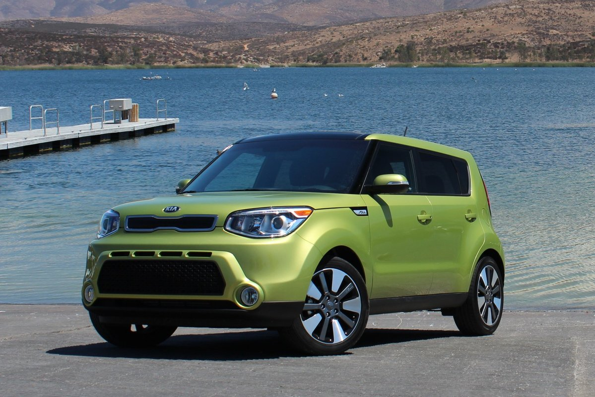 kia soul first trend test motor interior cars