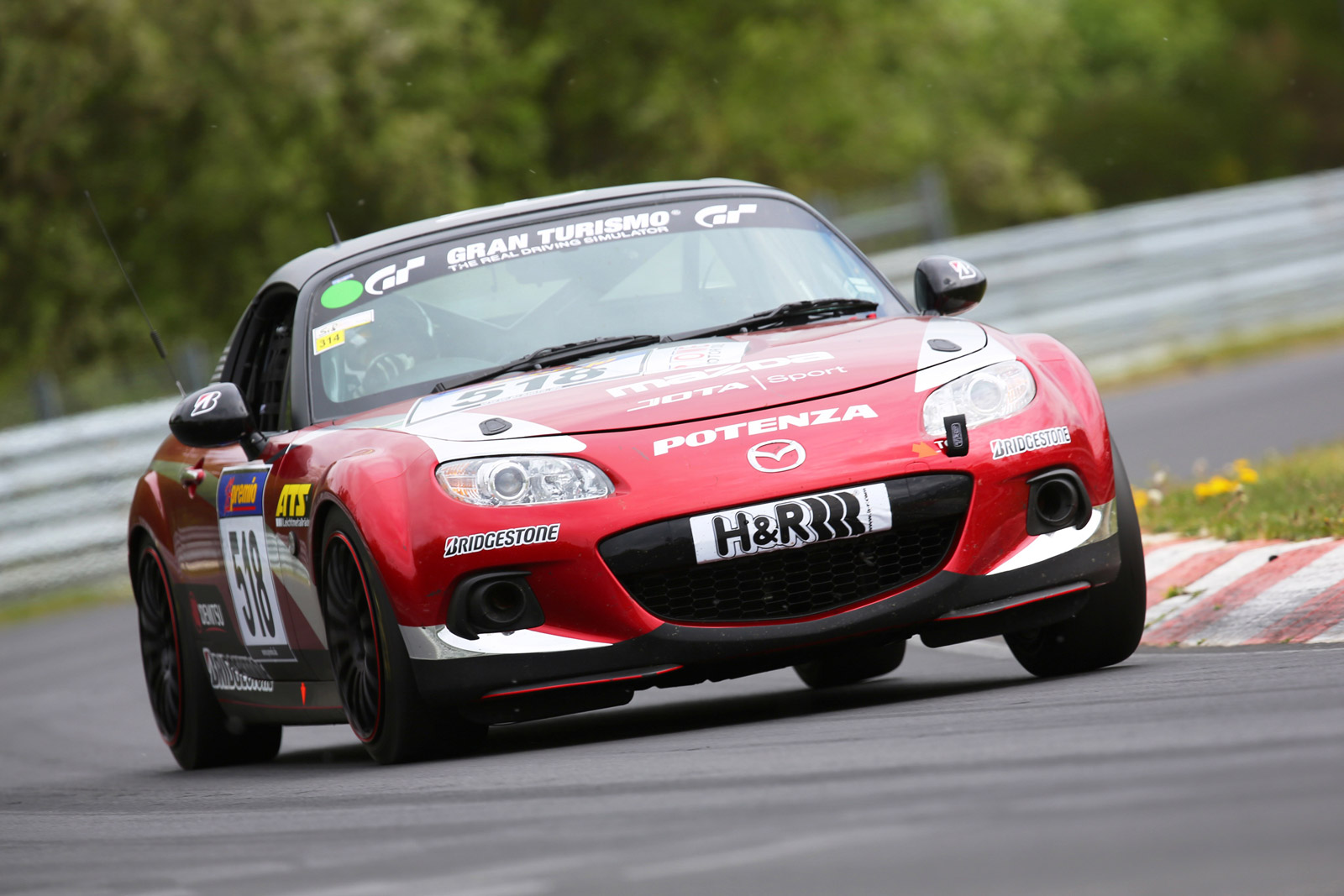 mazda mx 5 to enter n rburgring 24 hours as part of 25th anniversary celebrations. Black Bedroom Furniture Sets. Home Design Ideas