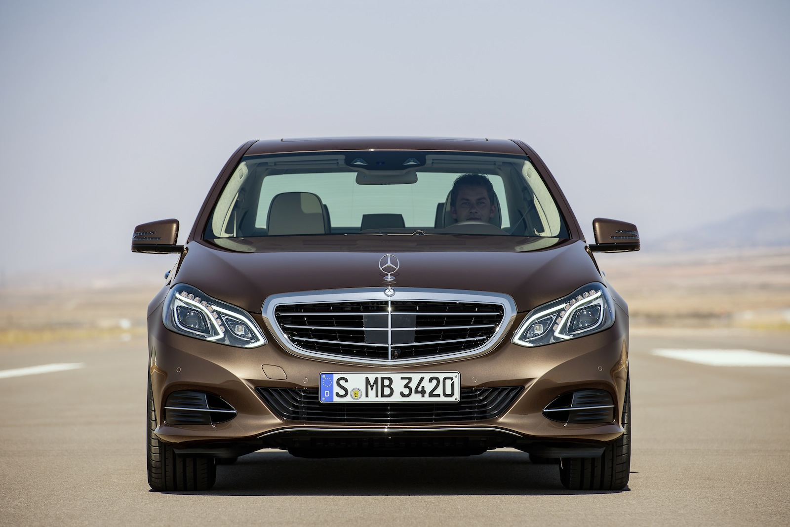 Bi-Fuel Mercedes-Benz E-Class Runs On Natural Gas, In Germany