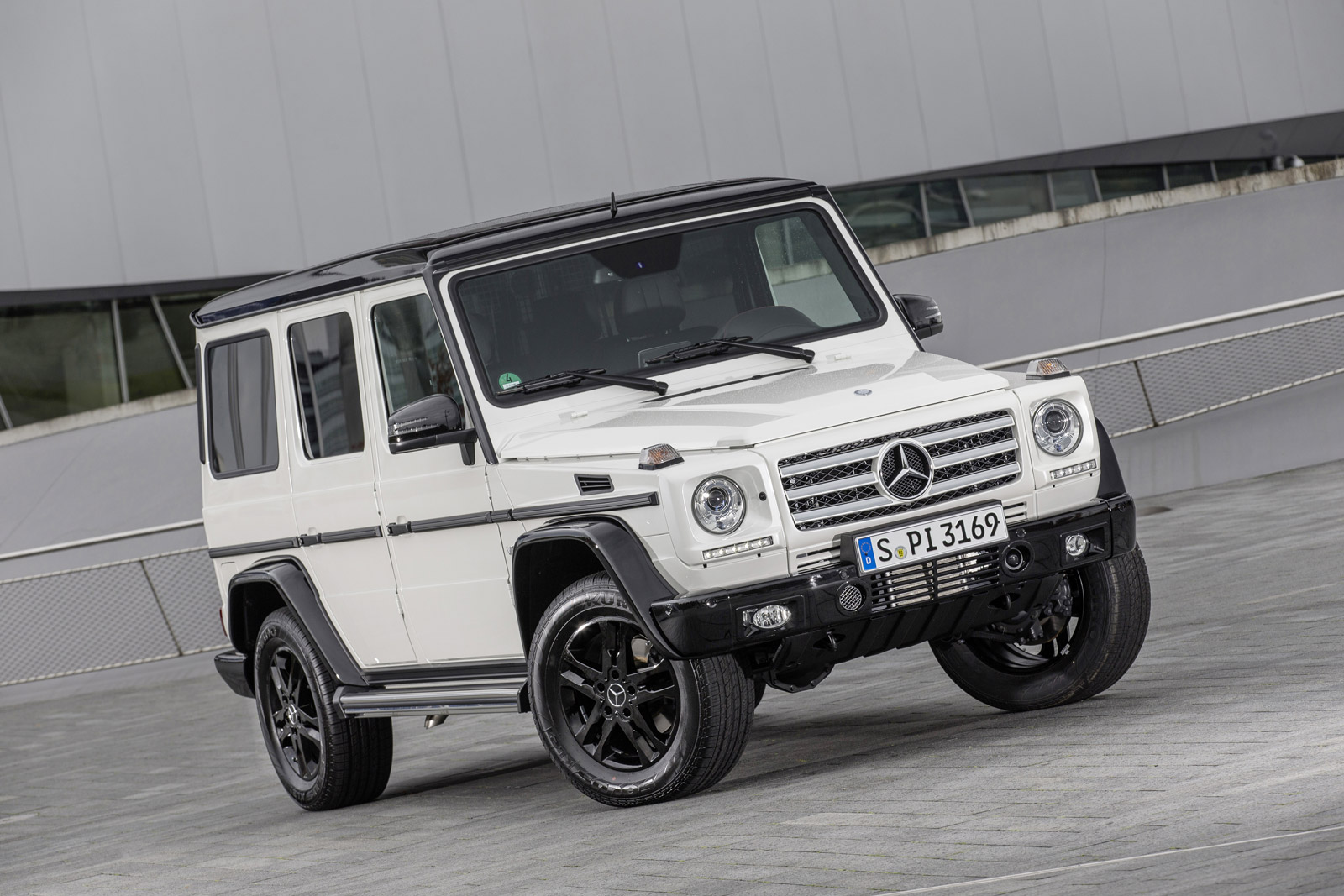 Mercedes Benz Celebrates 35 Years Of The G Class