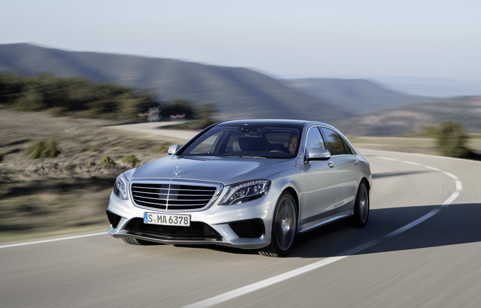 2014 Mercedes-Benz S63 AMG first drive review