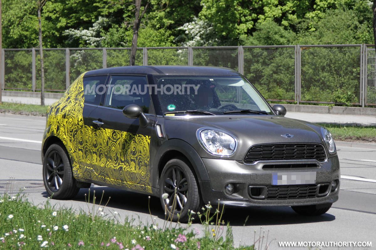 Mini Countryman Coupe Paceman To Debut As 2013 Model
