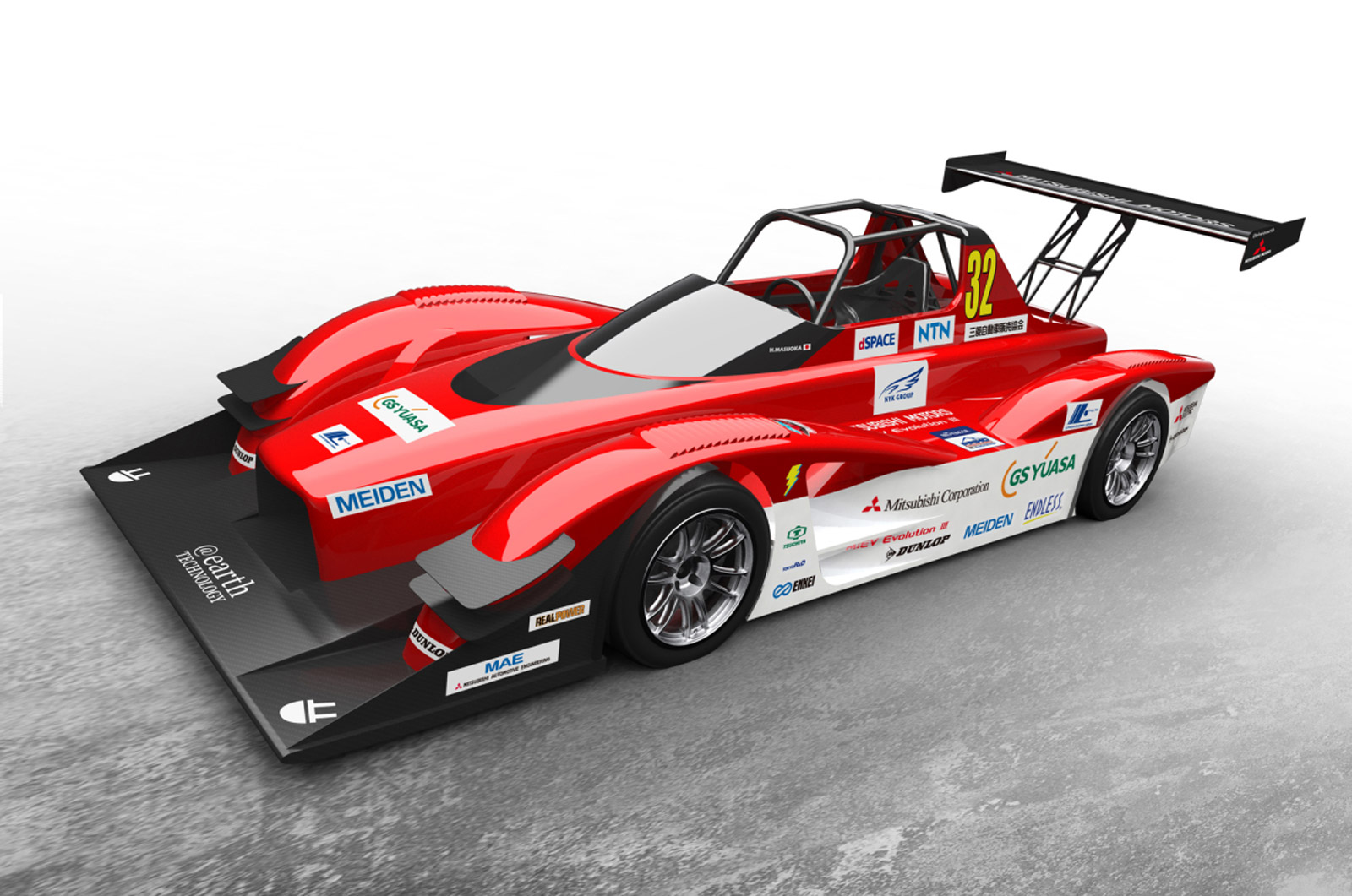Mitsubishi Gears Up For 2014 Pikes Peak With 603-HP Electric Racer