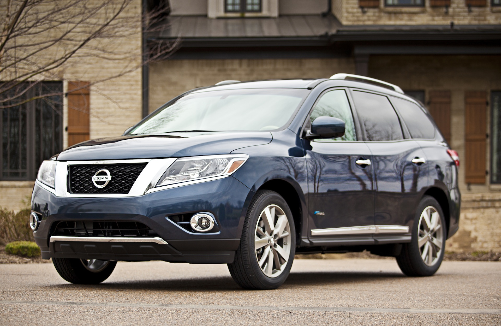 2014 Nissan Pathfinder Hybrid: Full Details From NY Auto Show