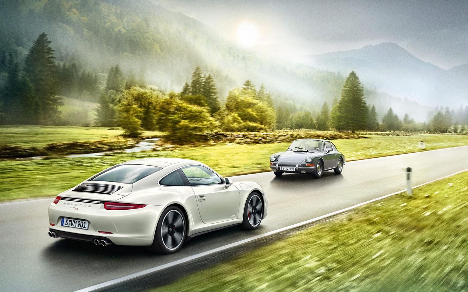 Porsche 911 50th Anniversary Edition Revealed: Video