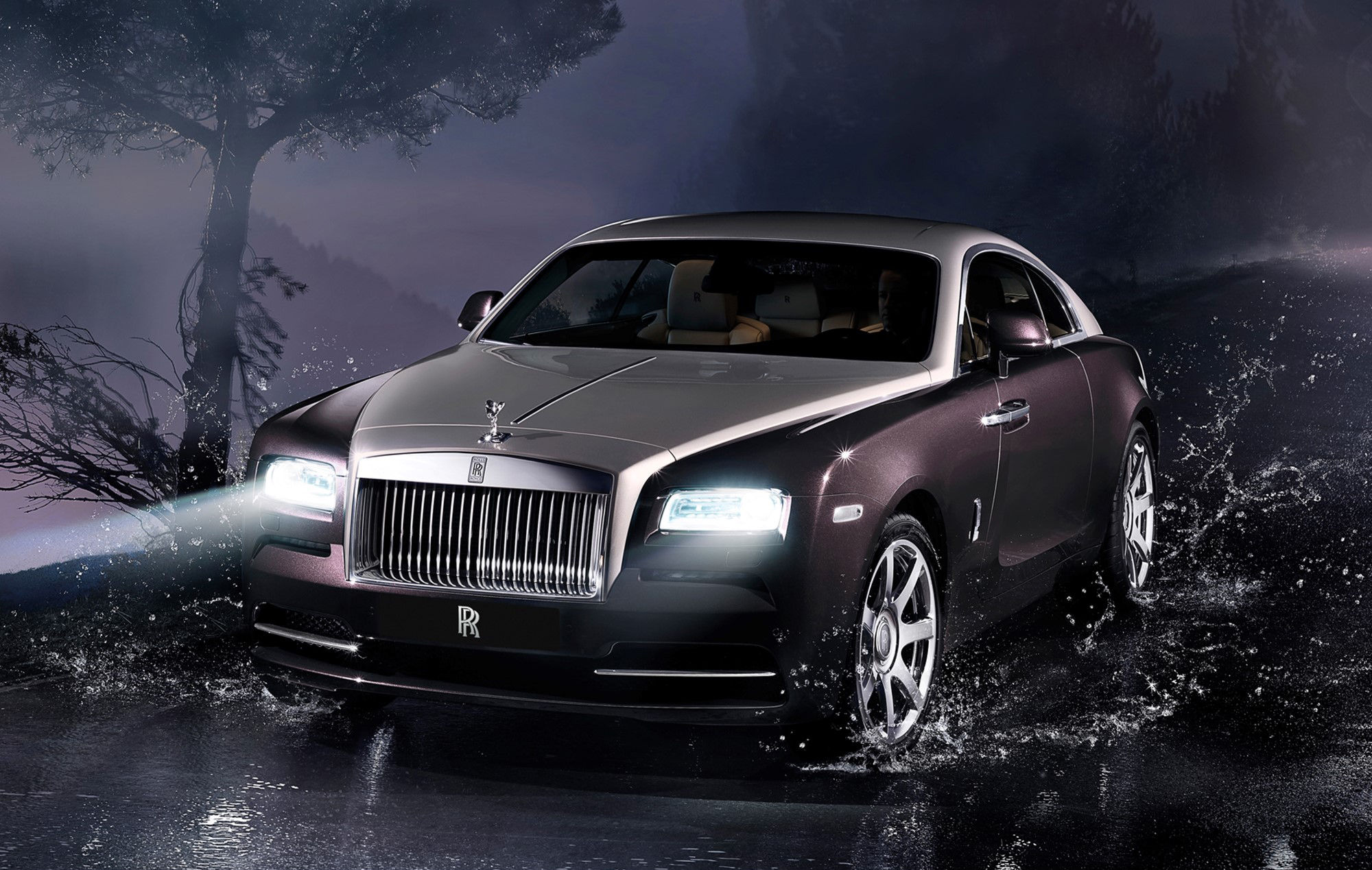 First Look At Rolls Royce S Wraith On The Road Video