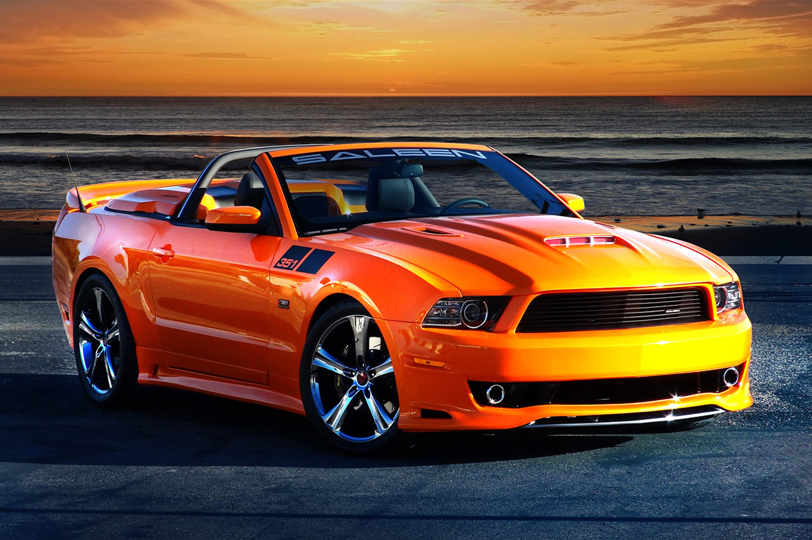 Saleens flagship 351 mustang enters production